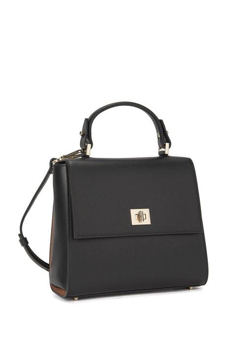Bespoke handbag in smooth leather BOSS Jhh1Lhn