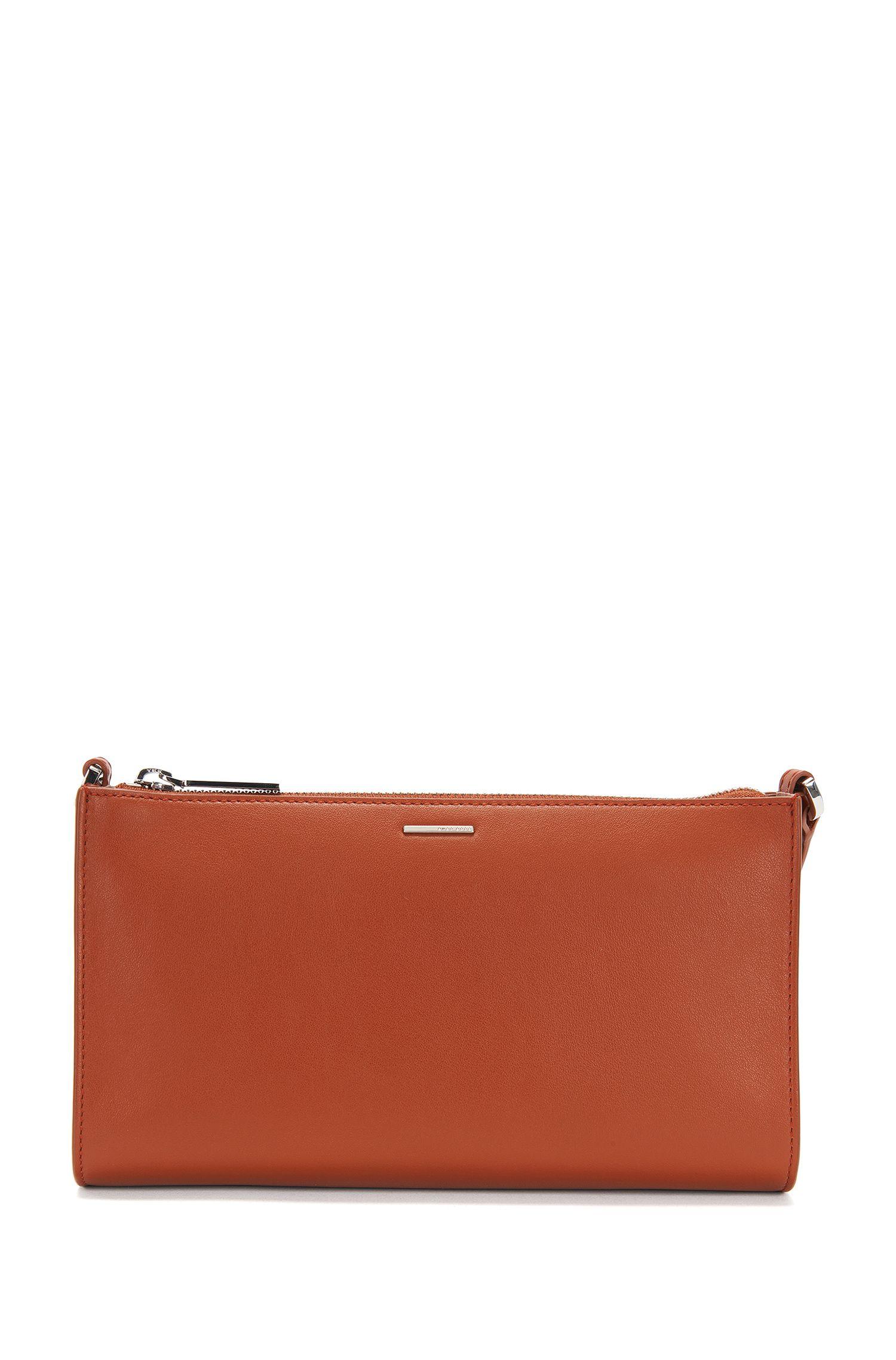 Trousse de maquillage en cuir avec bandoulière amovible: «Staple Mini Bag-N»