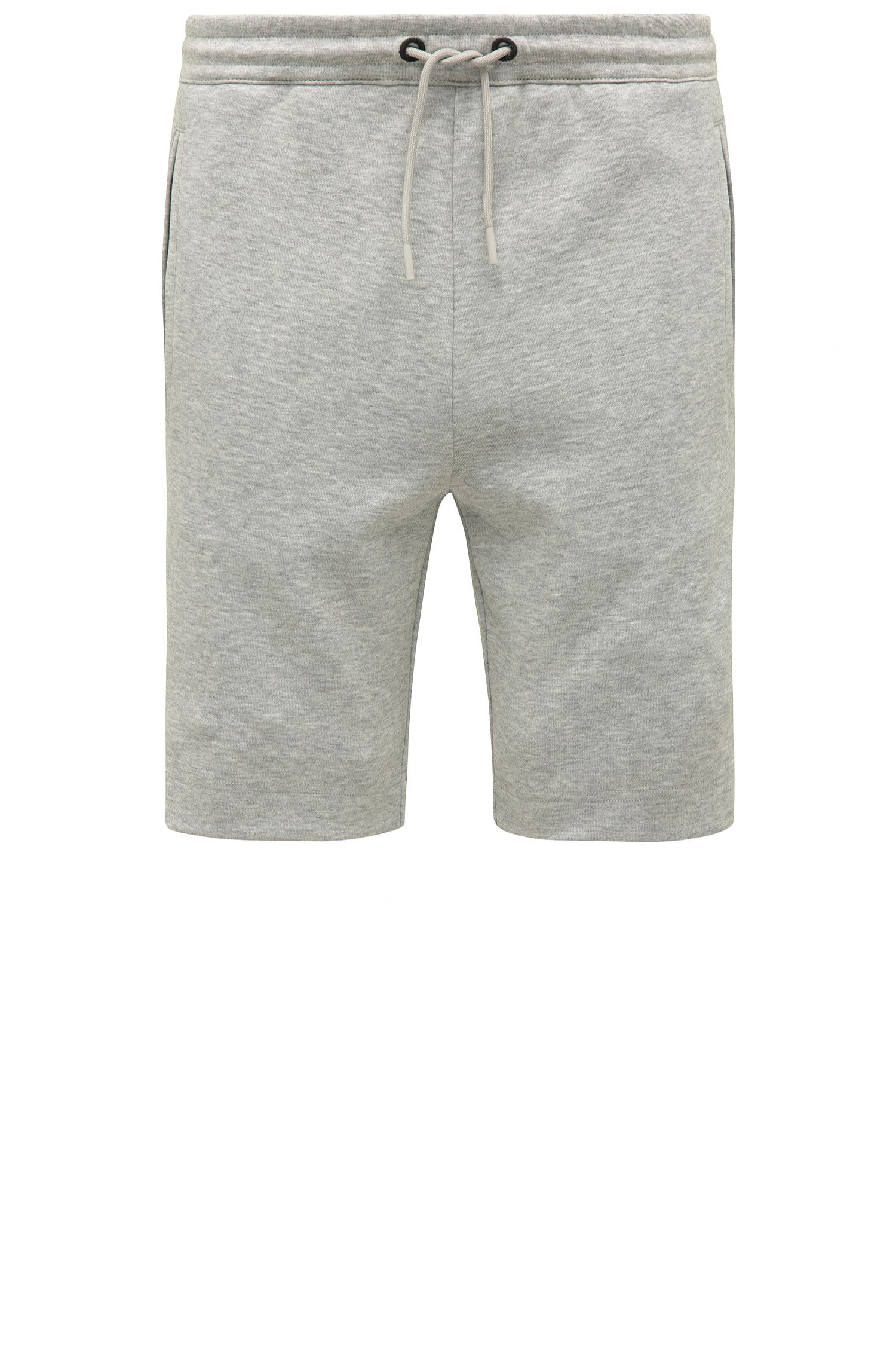 Short molletonné Regular Fit en coton mélangé : « Headlo »