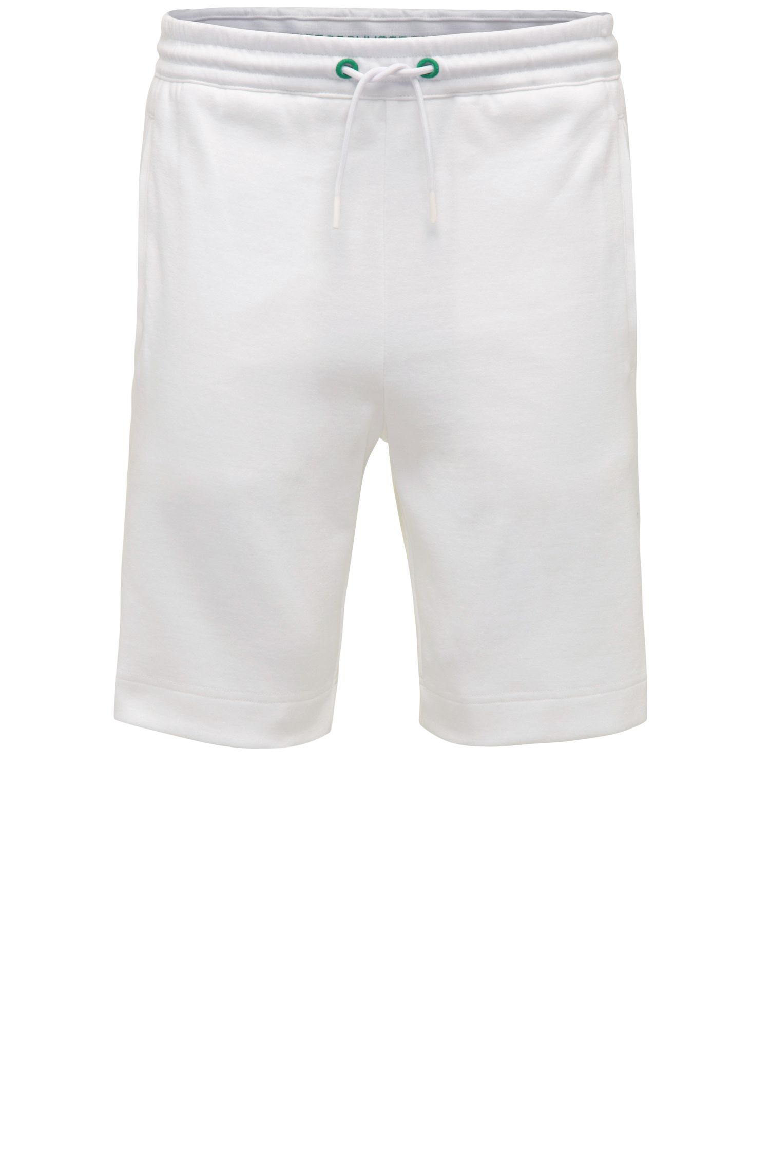 Regular-fit sweatshort van een katoenmix: 'Headlo'