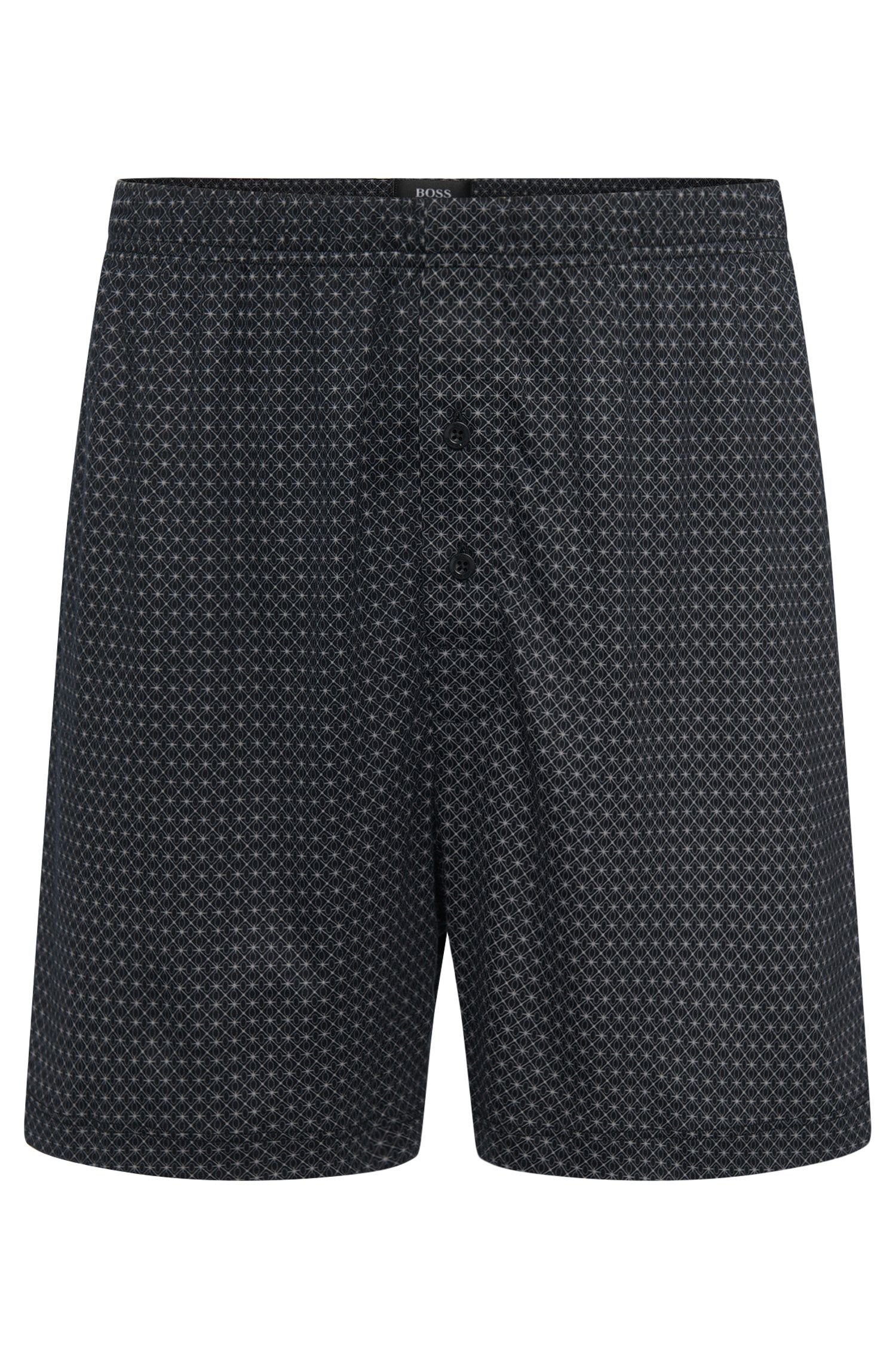 Patterned boxer shorts in a cotton blend with modal: 'Boxer Short CW'