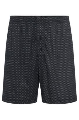 Patterned boxer shorts in a cotton blend with modal: 'Boxer Short CW', Patterned