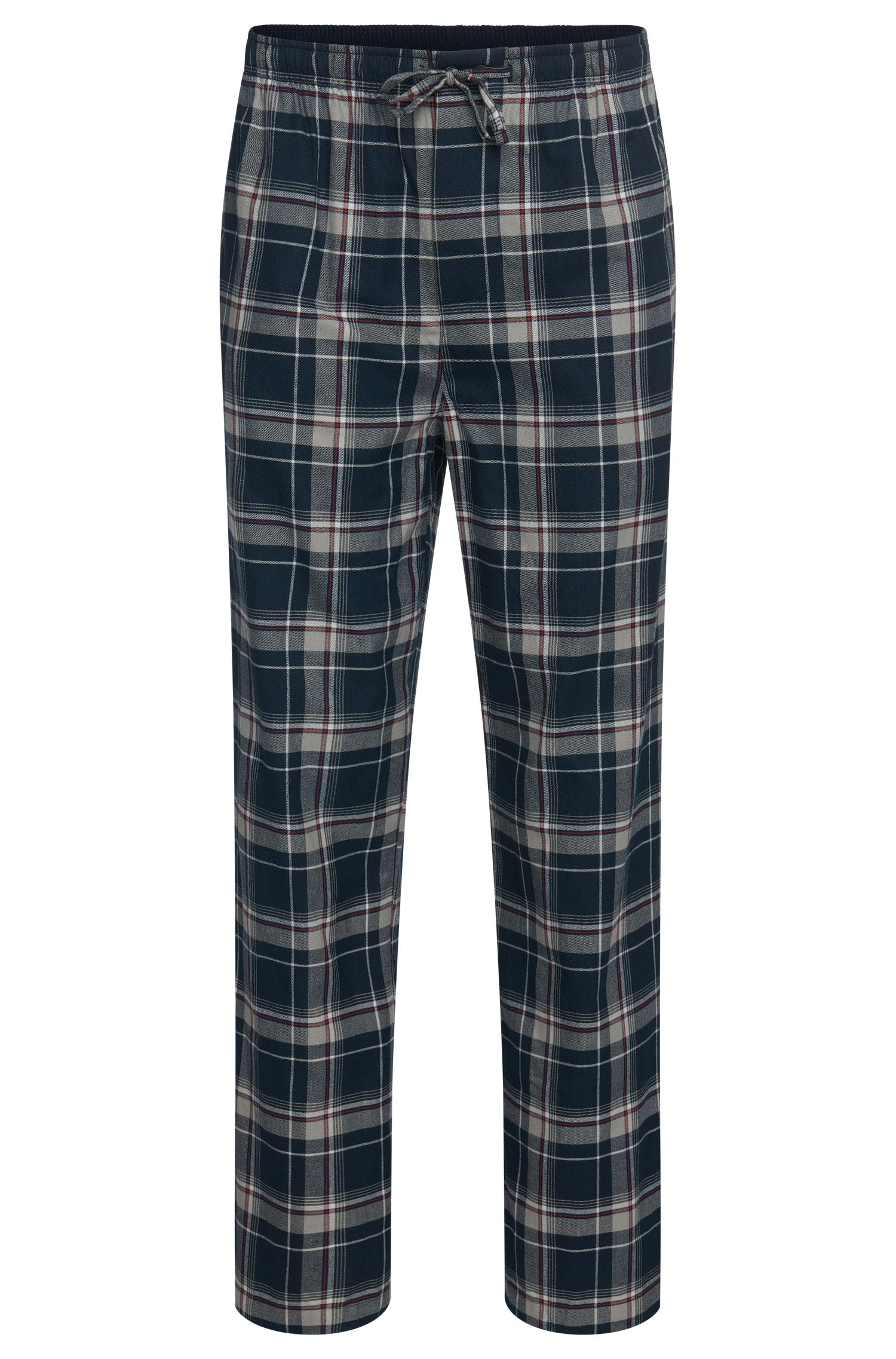 Checked pyjama bottoms in cotton: 'Long Pant CW'