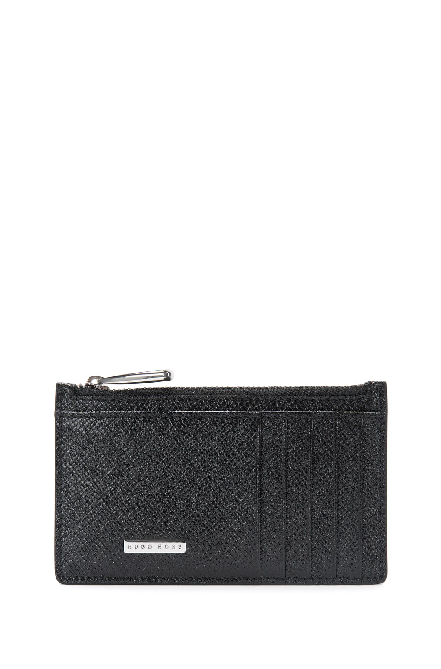 Signature Collection card case in palmellato leather