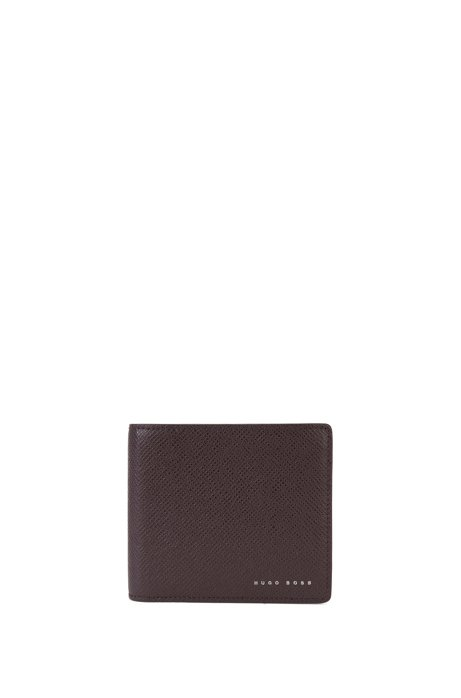 60ad02c3827 Portefeuille pliable en cuir issu de la collection Signature pourvu de 8  fentes pour cartes