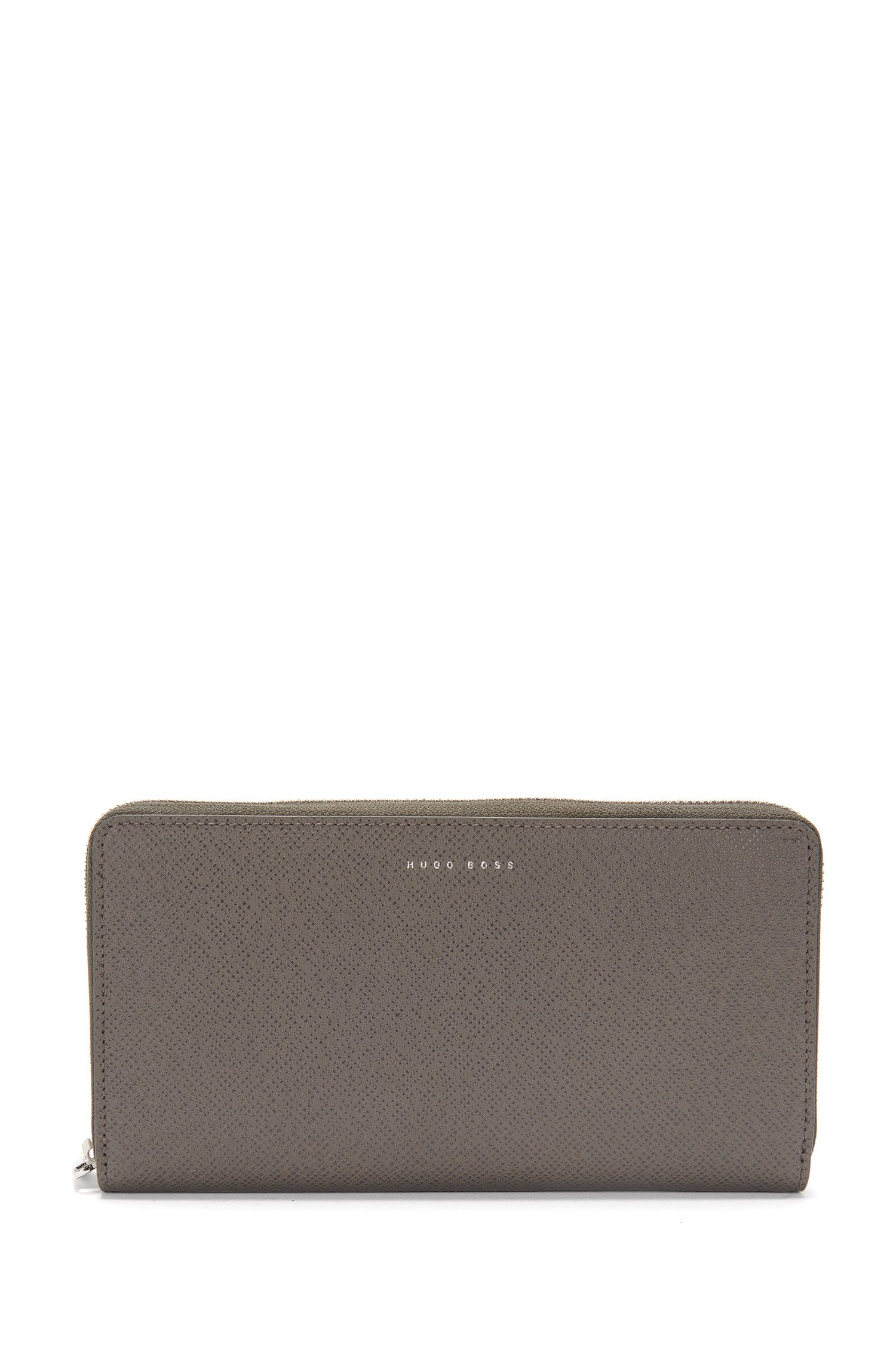 Signature Collection ziparound wallet in palmellato leather