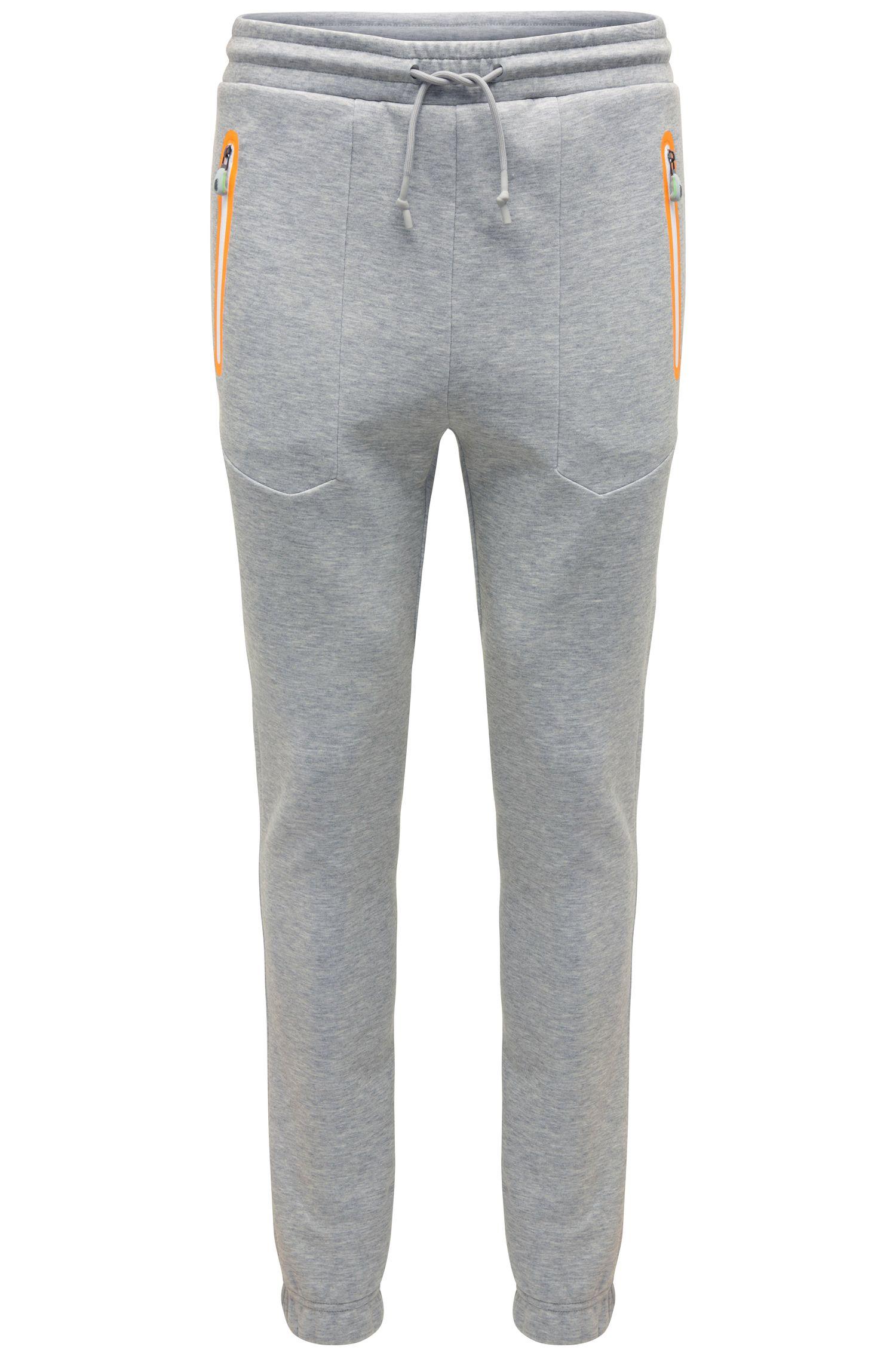 Pantalon de jogging décontracté en coton mélangé: «Heacho»