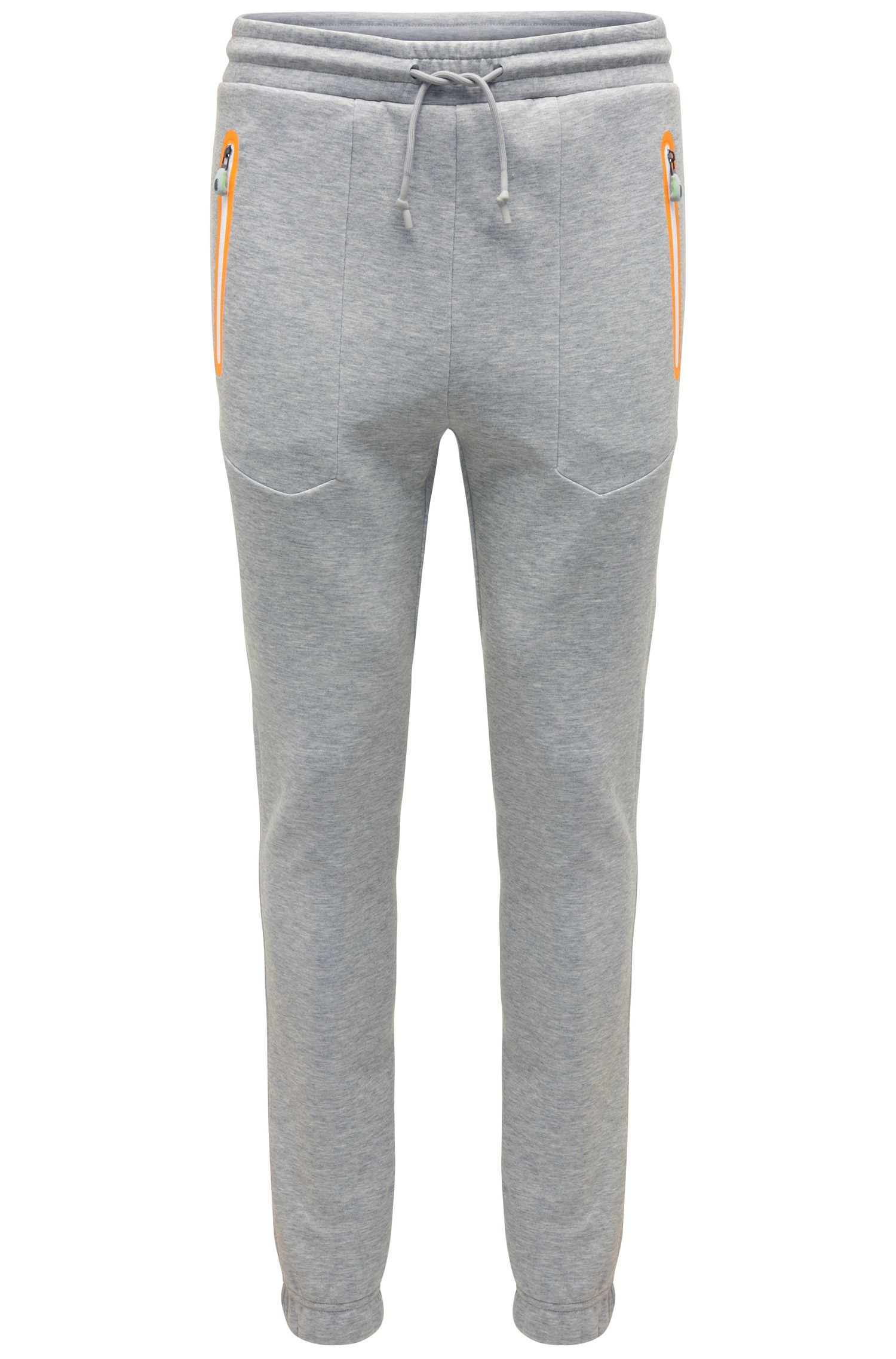 Casual joggers in cotton blend: 'Heacho'