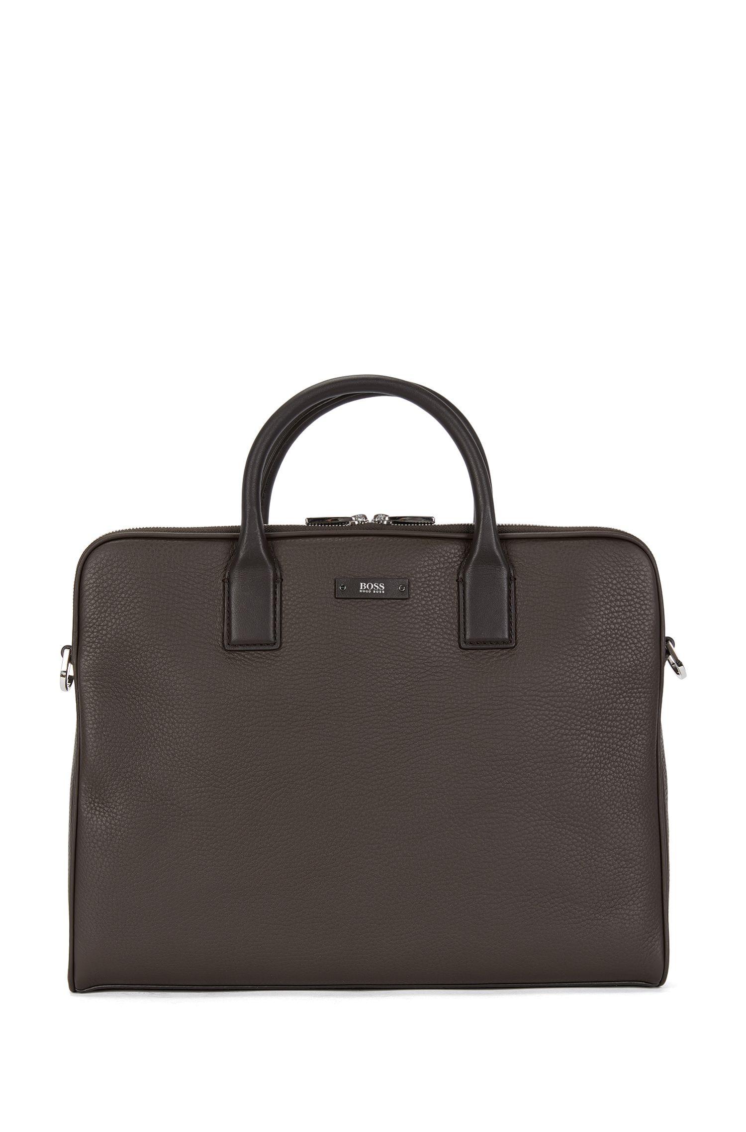 Workbag aus Leder mit zwei Hauptfächern: 'Traveller_D Z comp'