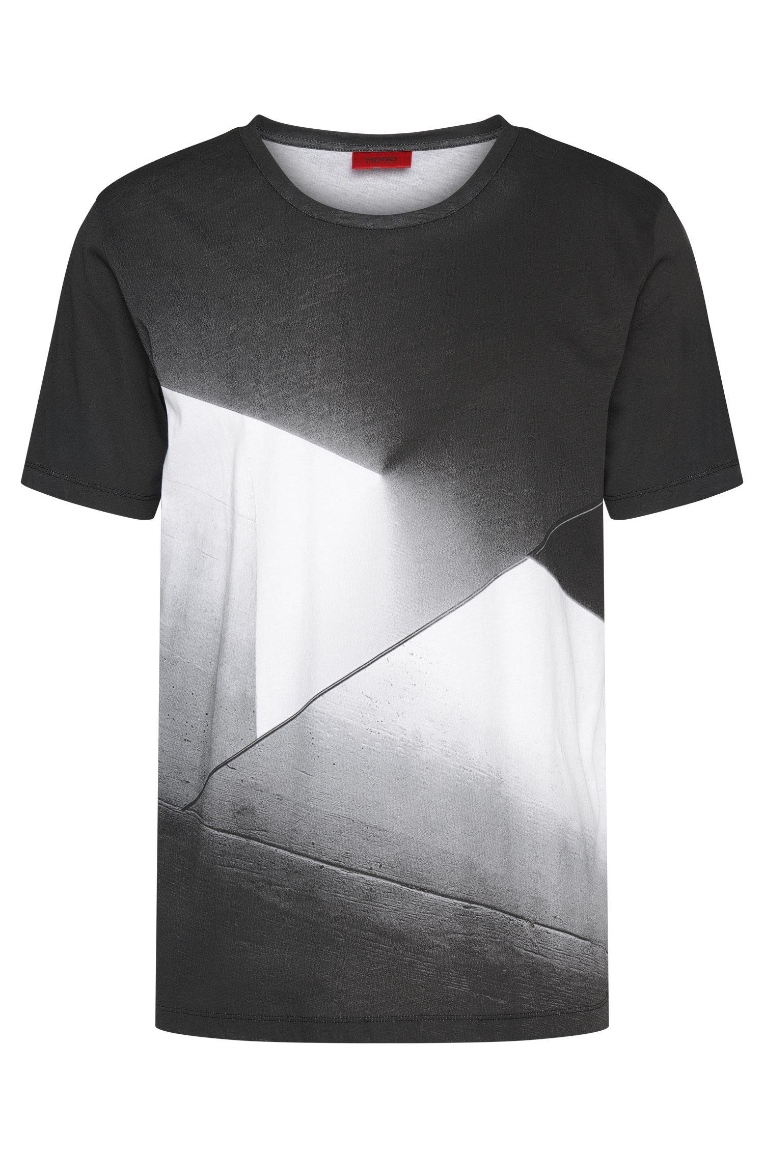 Camiseta impresa loose fit en algodón: 'Dicino'