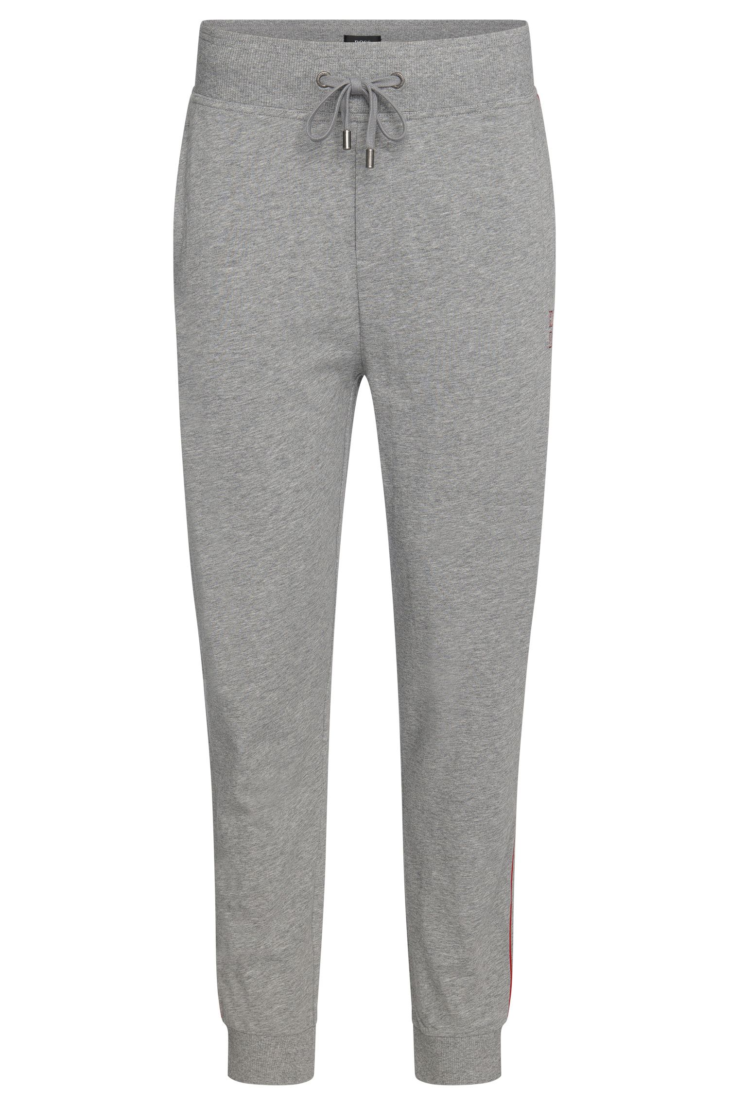 Cotton tracksuit bottoms with a drawstring: 'Long Pant Cuffs'