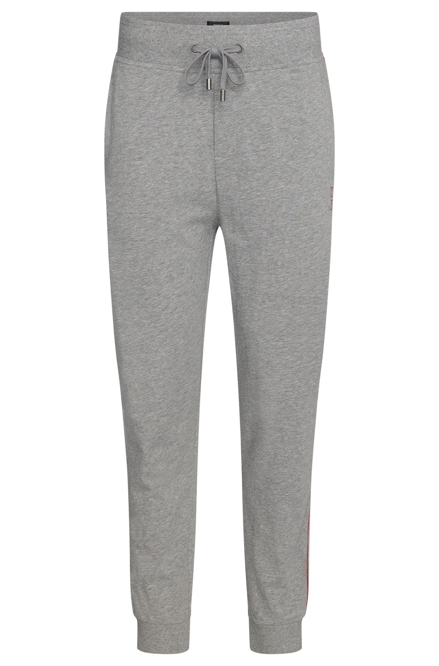 Sweathose aus Baumwolle mit Tunnelzug: 'Long Pant Cuffs'
