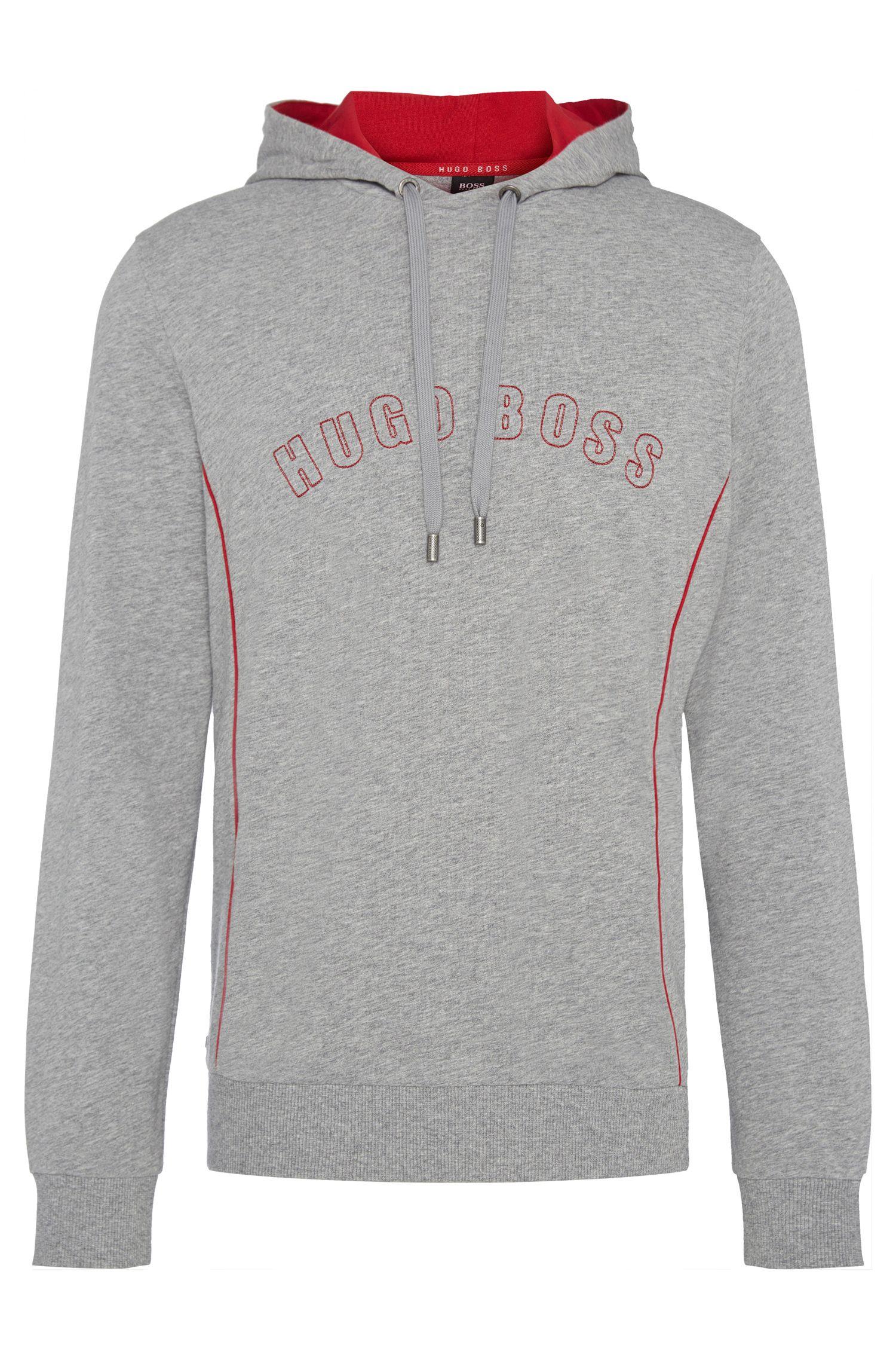Regular-Fit Kapuzen-Sweatshirt aus Baumwolle: 'Hooded Sweatshirt'