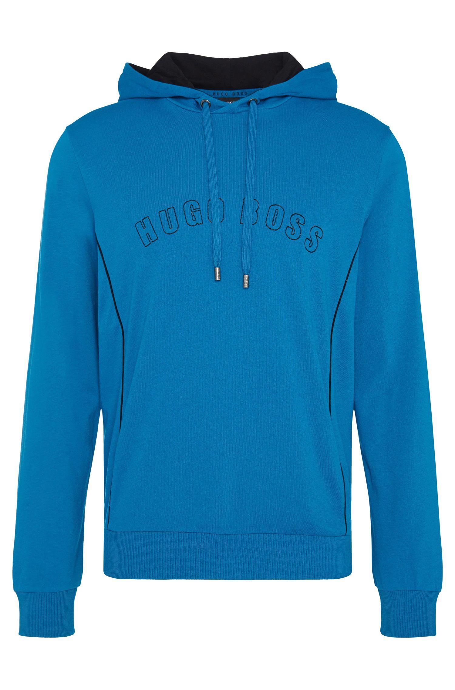Regular-fit hooded sweatshirt in cotton: 'Hooded Sweatshirt'