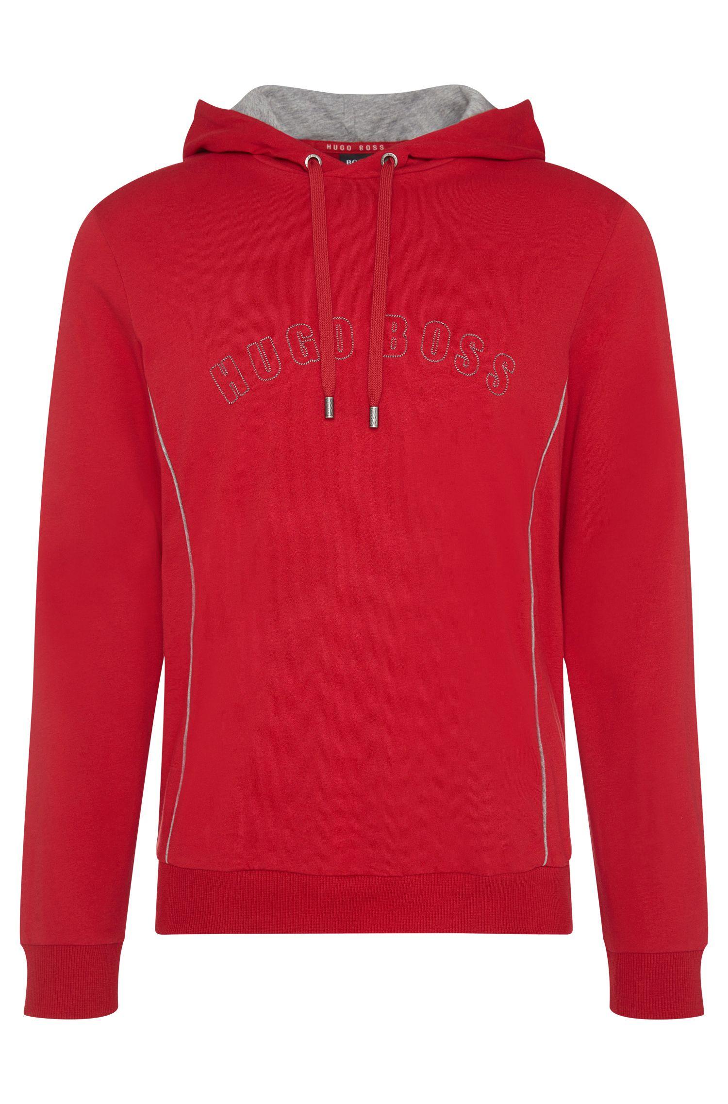 Felpa con cappuccio regular fit in cotone: 'Hooded Sweatshirt'