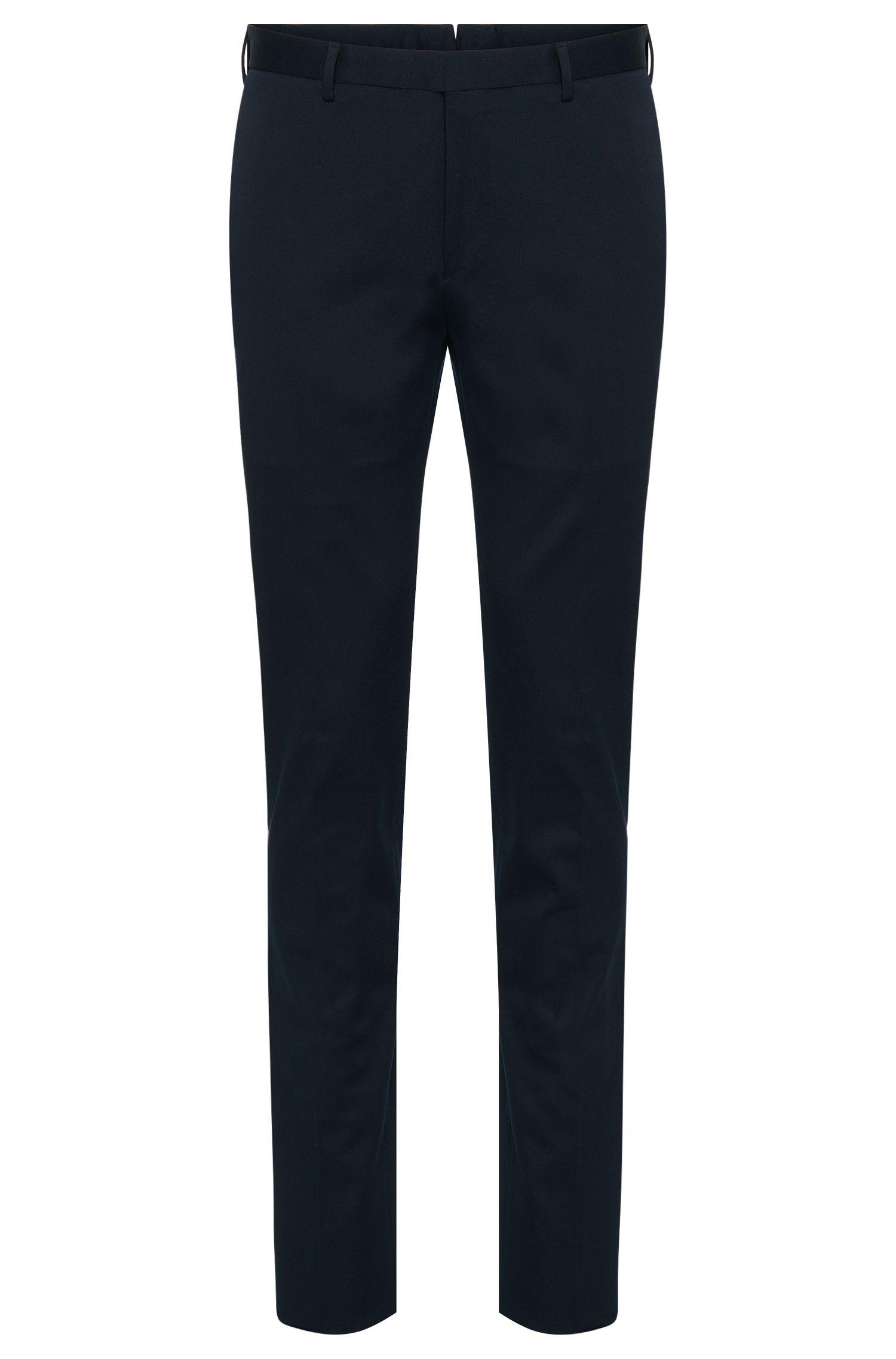 Slim-Fit Tailored Hose aus Baumwolle: 'T-Belvit'