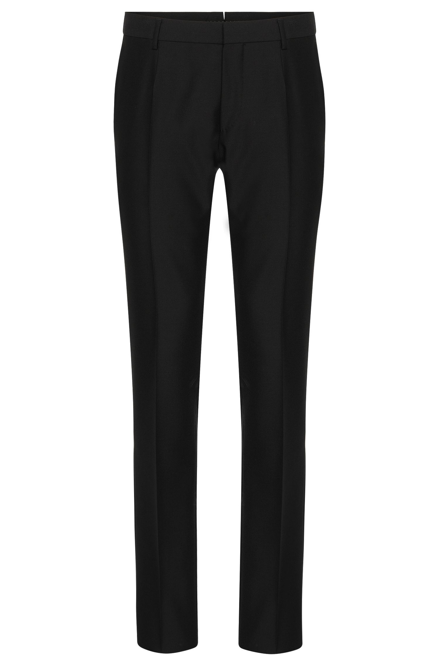Slim-fit Tailored trousers in new-wool blend with silk and mohair: 'T-Gavril'