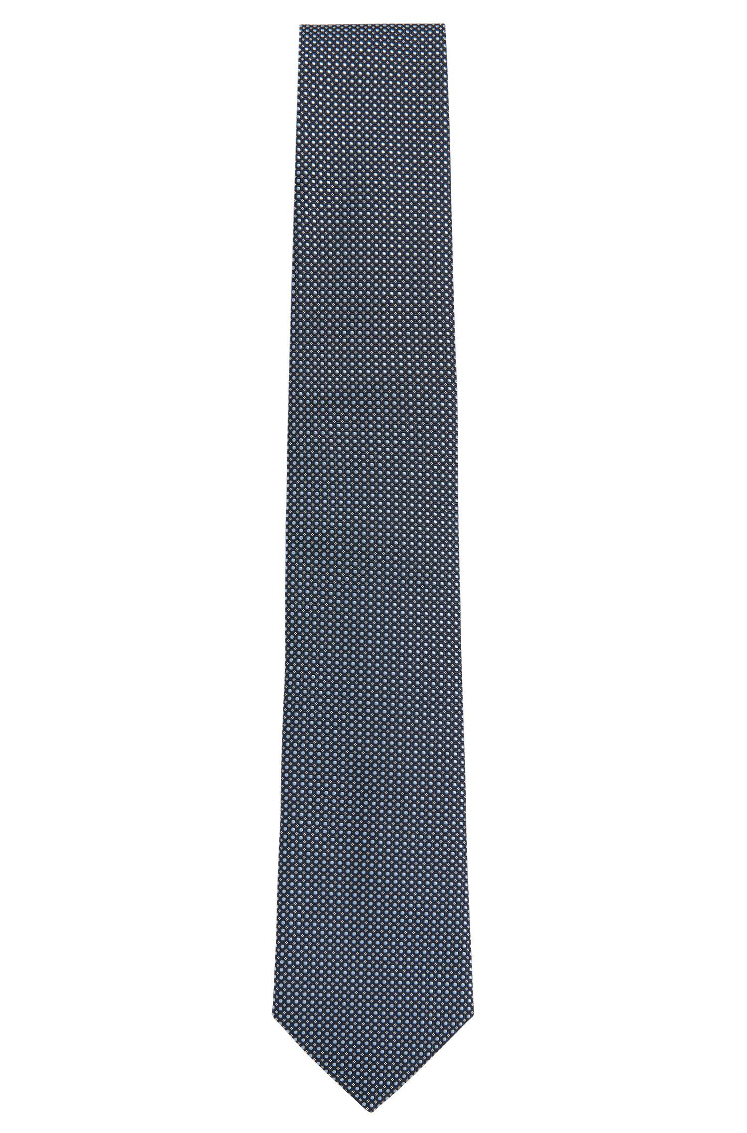 Cravatta in seta con fine motivo a disegni: 'Tie 7,5cm'