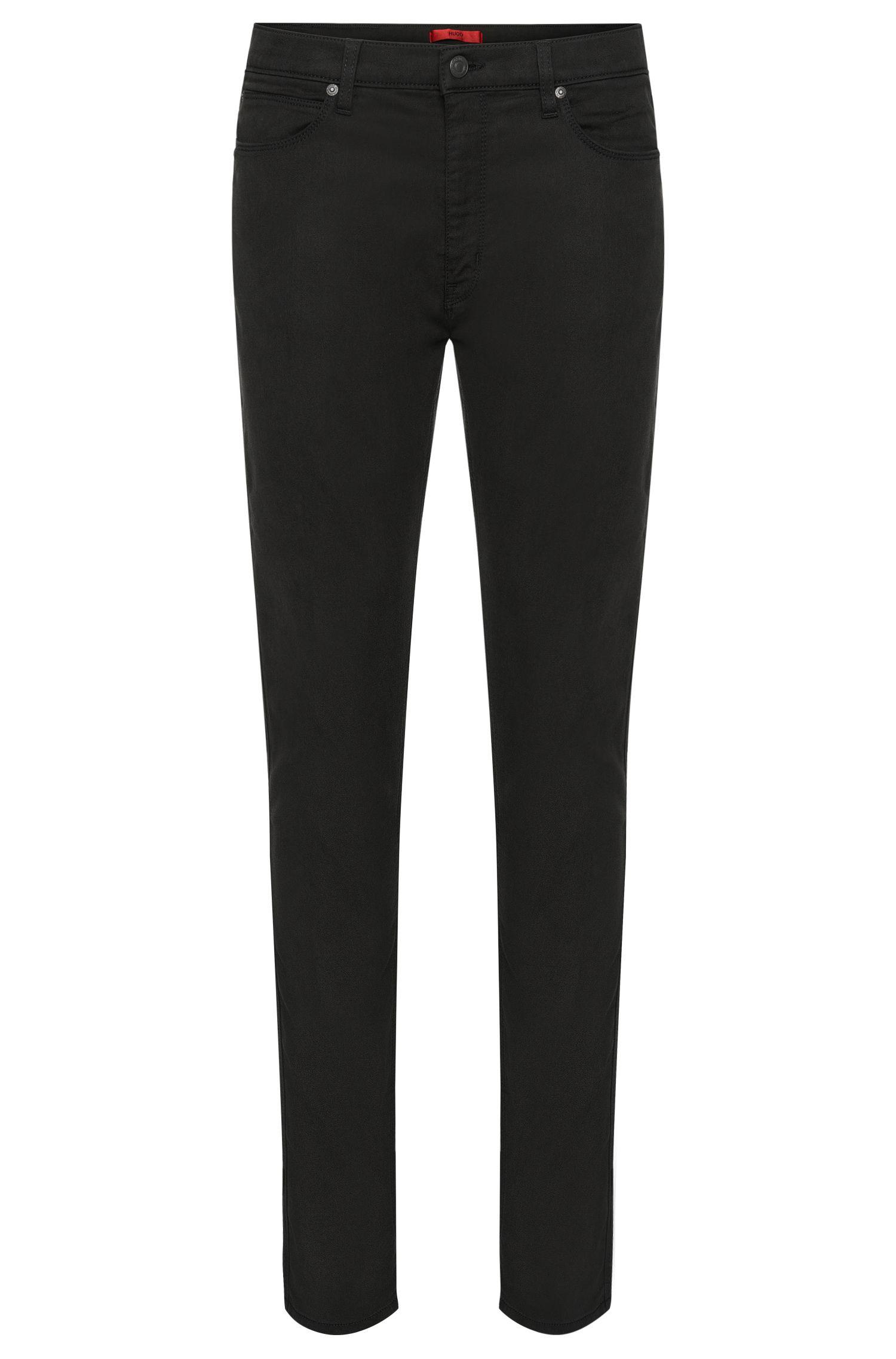 Jeans skinny fit in materiali misti elasticizzati e cotone: 'HUGO 734'