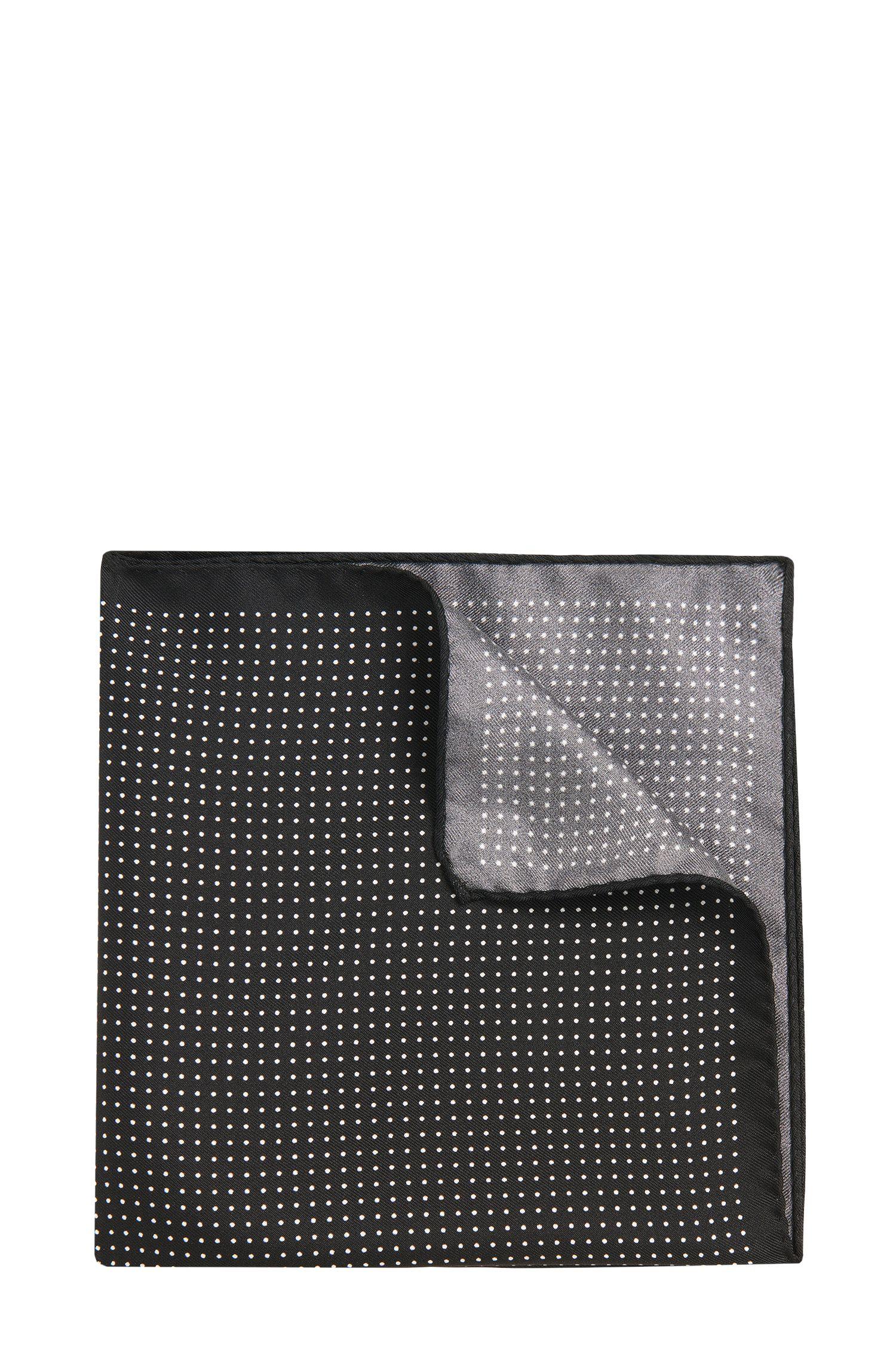 Pochette en soie à motif: «Pocketsquare 33x33cm»