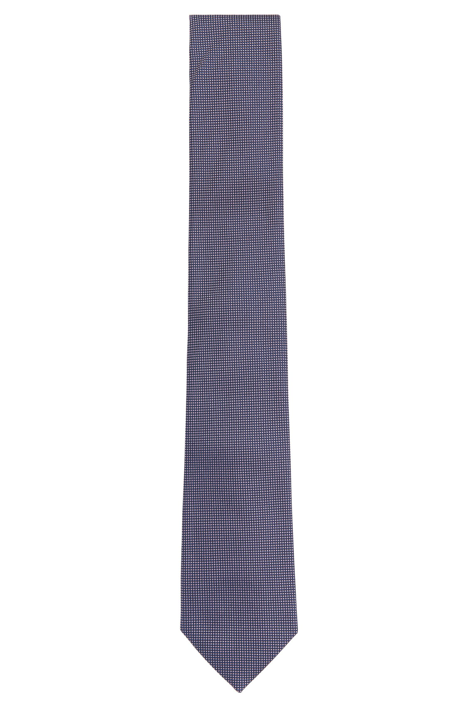 All-over patterned silk tie: 'Tie 7.5 cm'