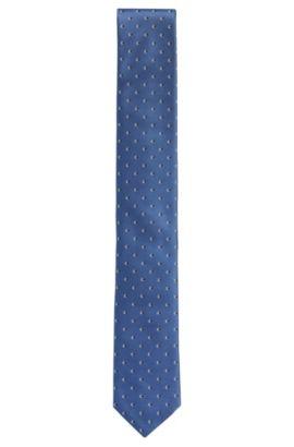 Cravate en soie à motif intégral: «Tie6cm», Turquoise