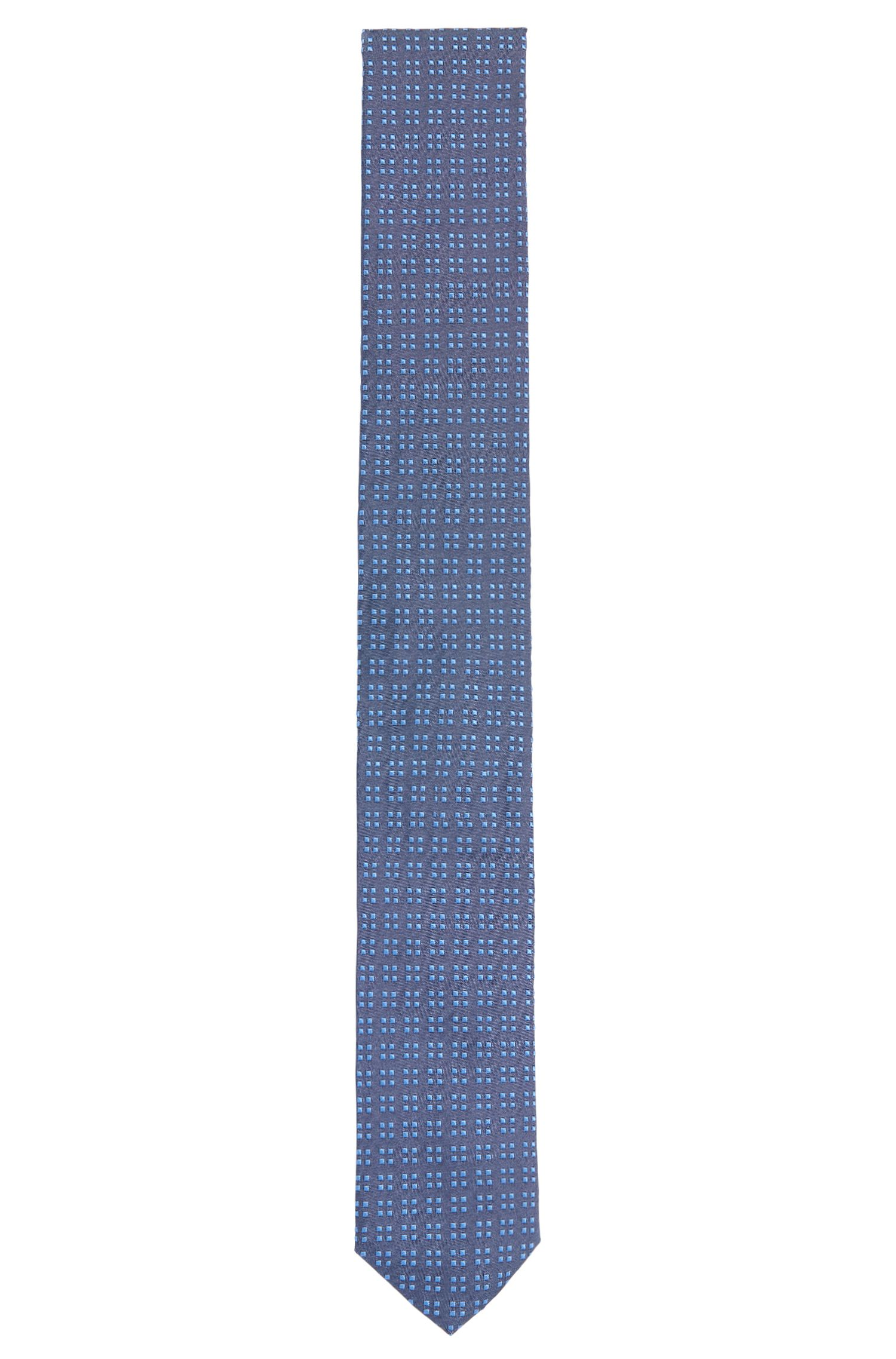 All-over patterned silk tie: 'Tie 6cm'