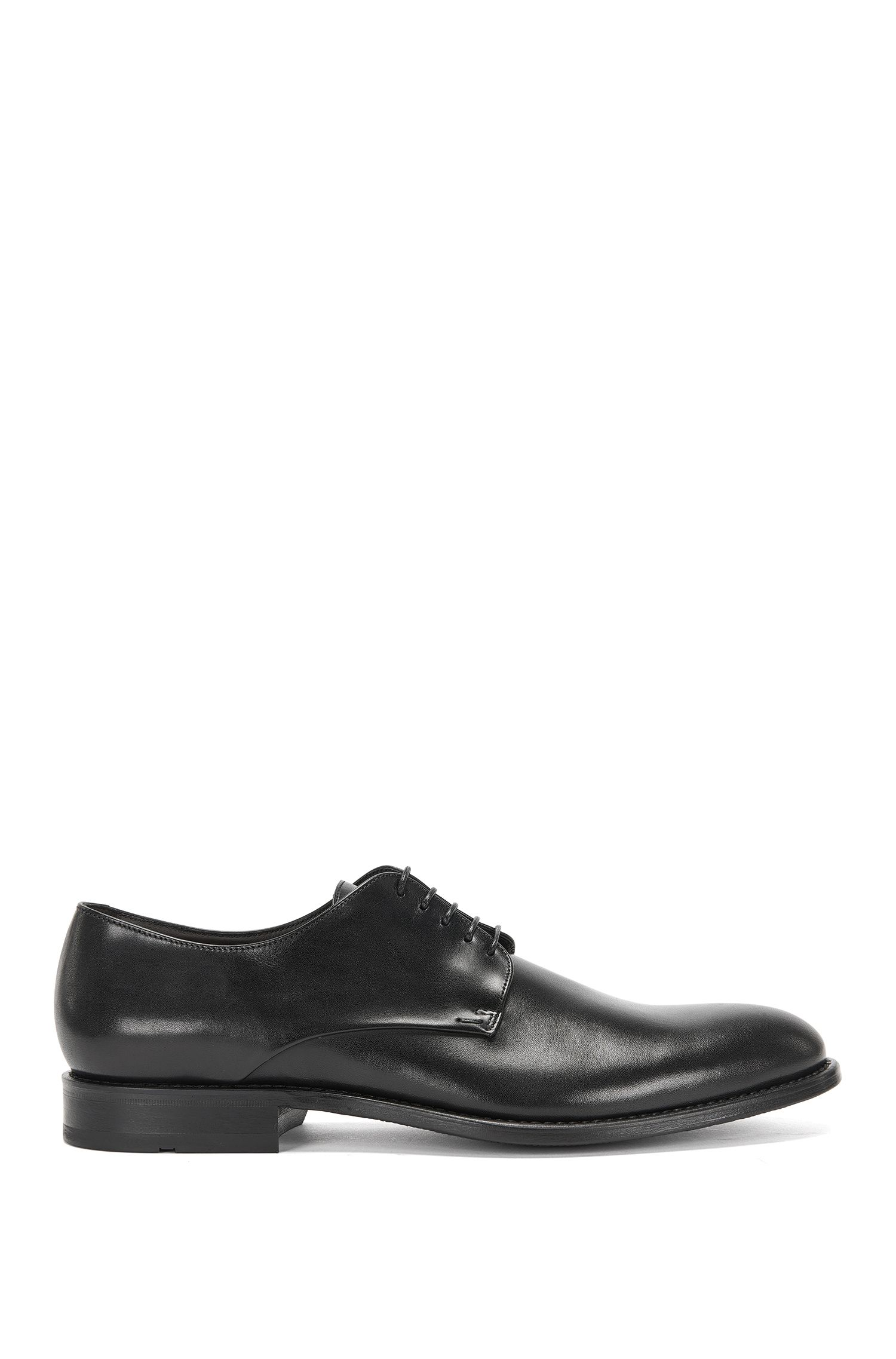 Leather lace-up shoes: 'Stockholm_Derb_ptst'