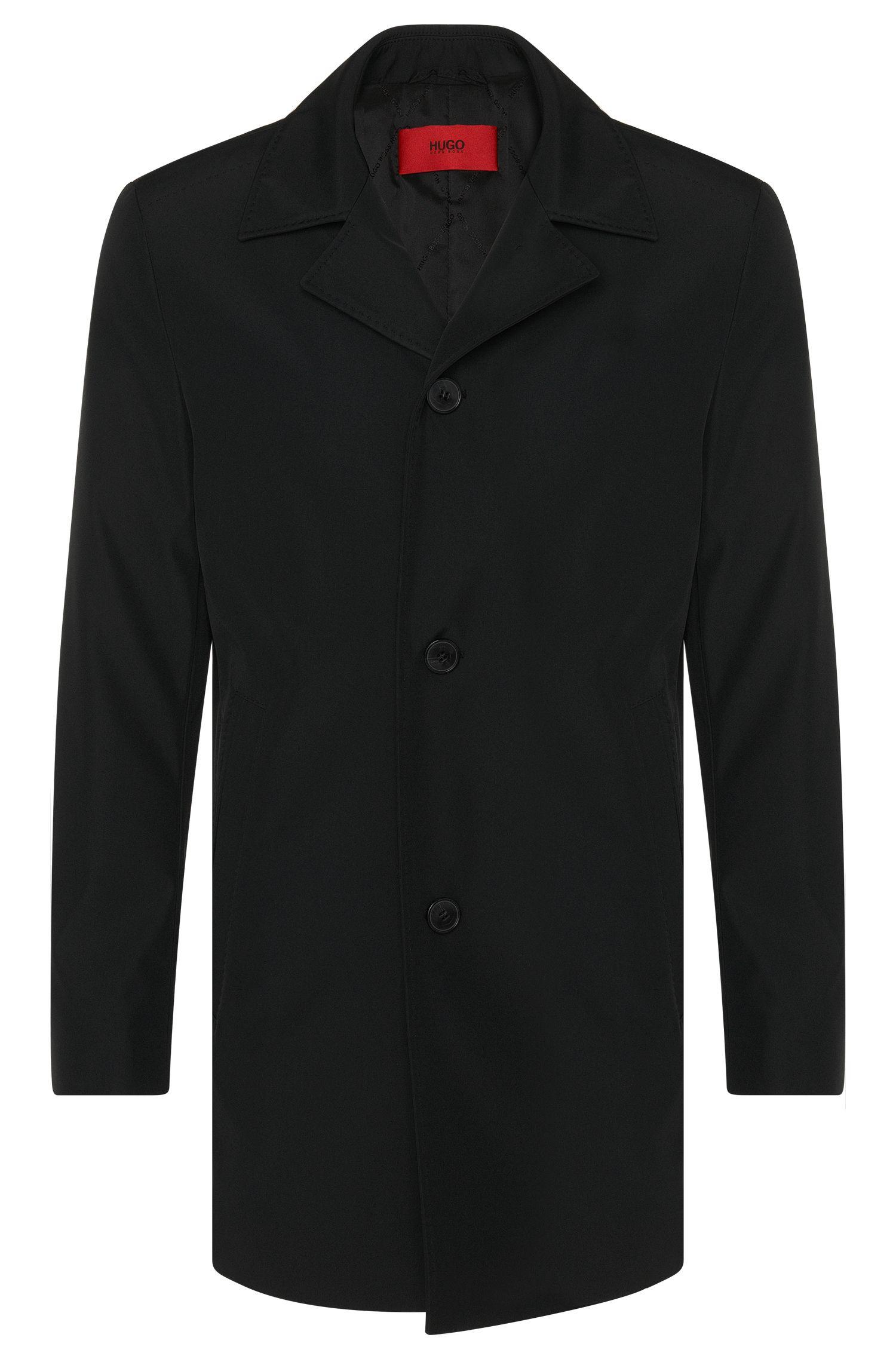 Cappotto regular fit in tessuto idrorepellente: 'C-Dais6'