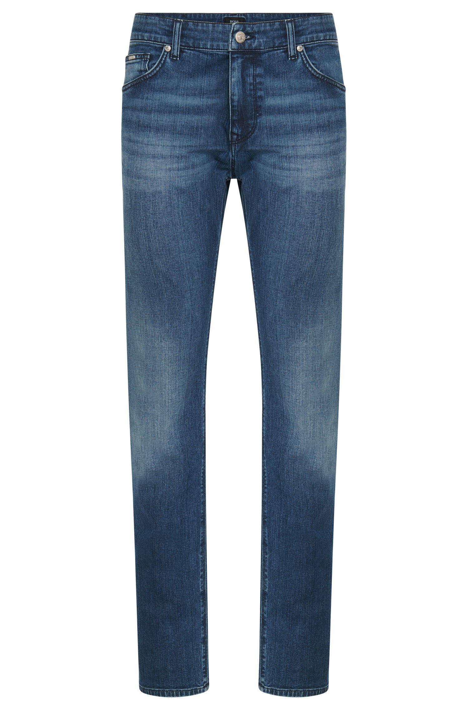Jeans regular fit in cotone elasticizzato: 'Maine3'