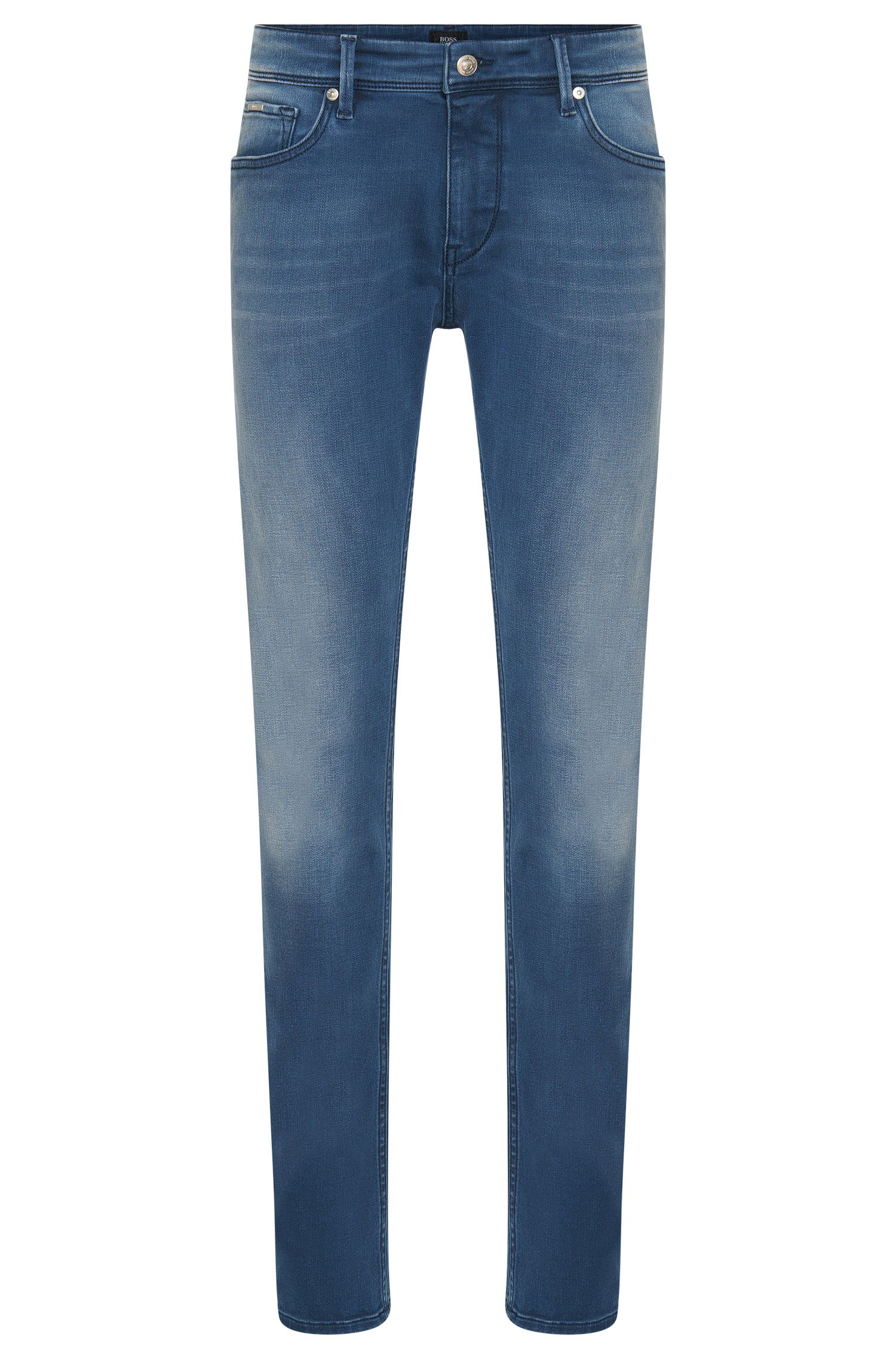 Jeans Slim Fit en coton extensible : « Charleston3 »