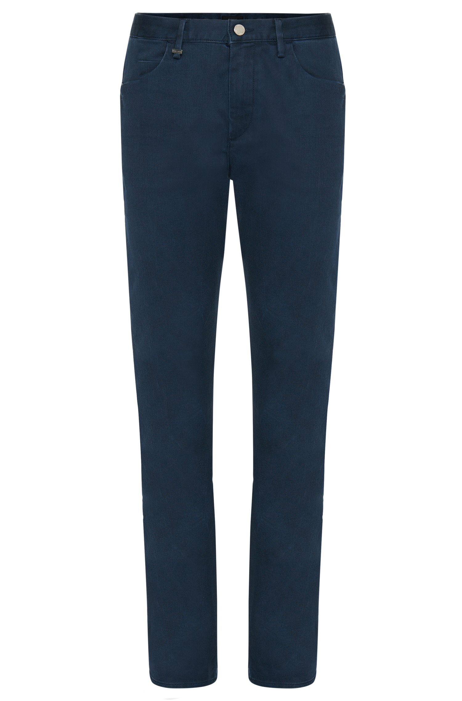 Slim-fit jeans in stretch cotton: 'Delaware6'