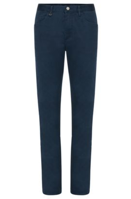 Jeans slim fit in cotone elasticizzato: 'Delaware6', Blu scuro