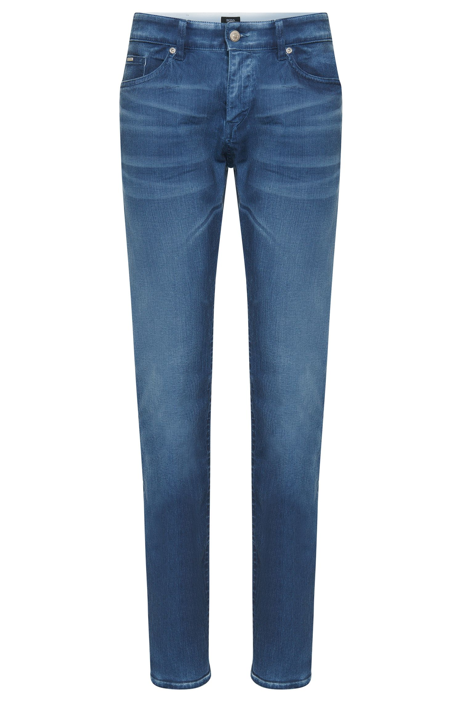 Slim-Fit Jeans aus Stretch-Baumwolle: 'Delaware3-1'