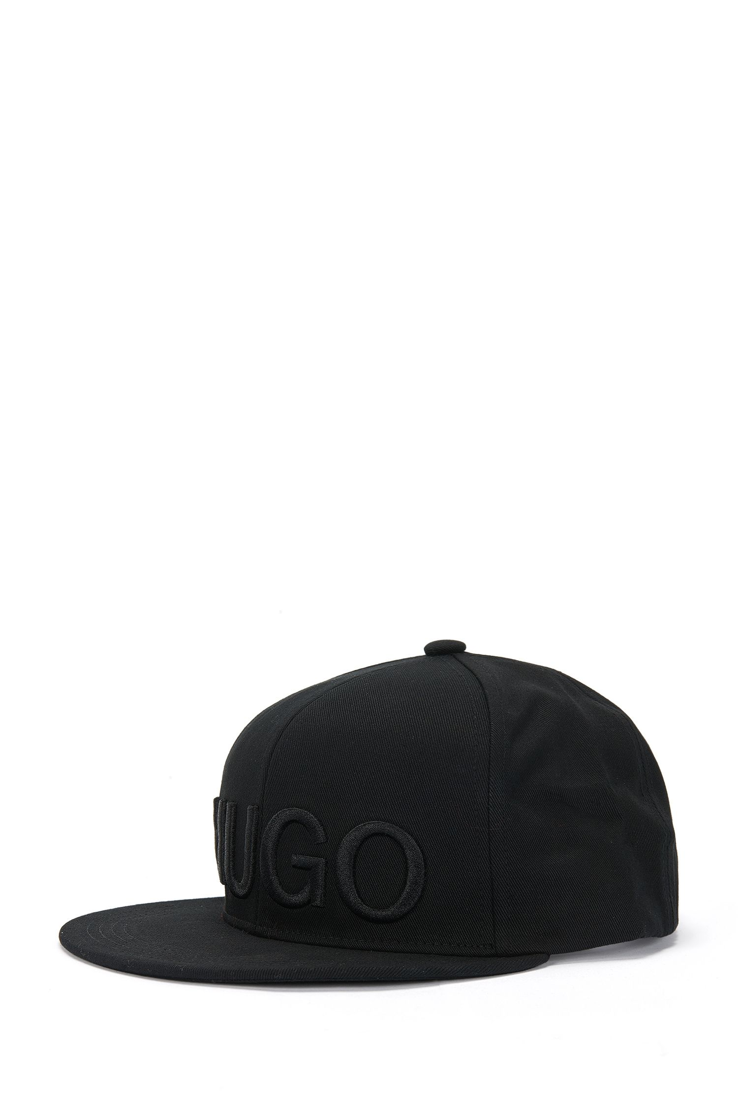 Cap in cotton with a large embroidered logo: 'Men-x 524/2'