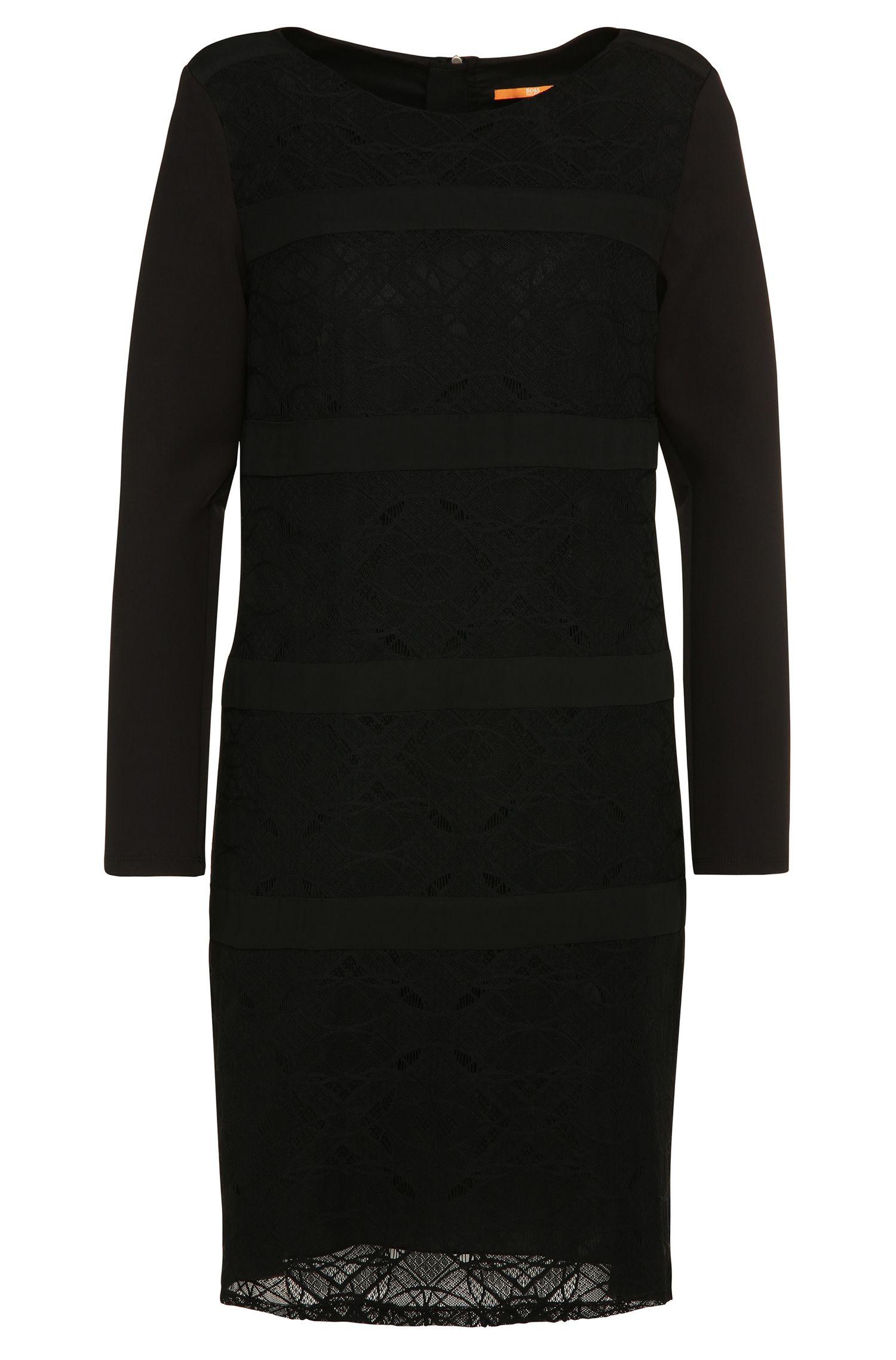 Kleid mit Spitzen-Besätzen: ´Alacy`
