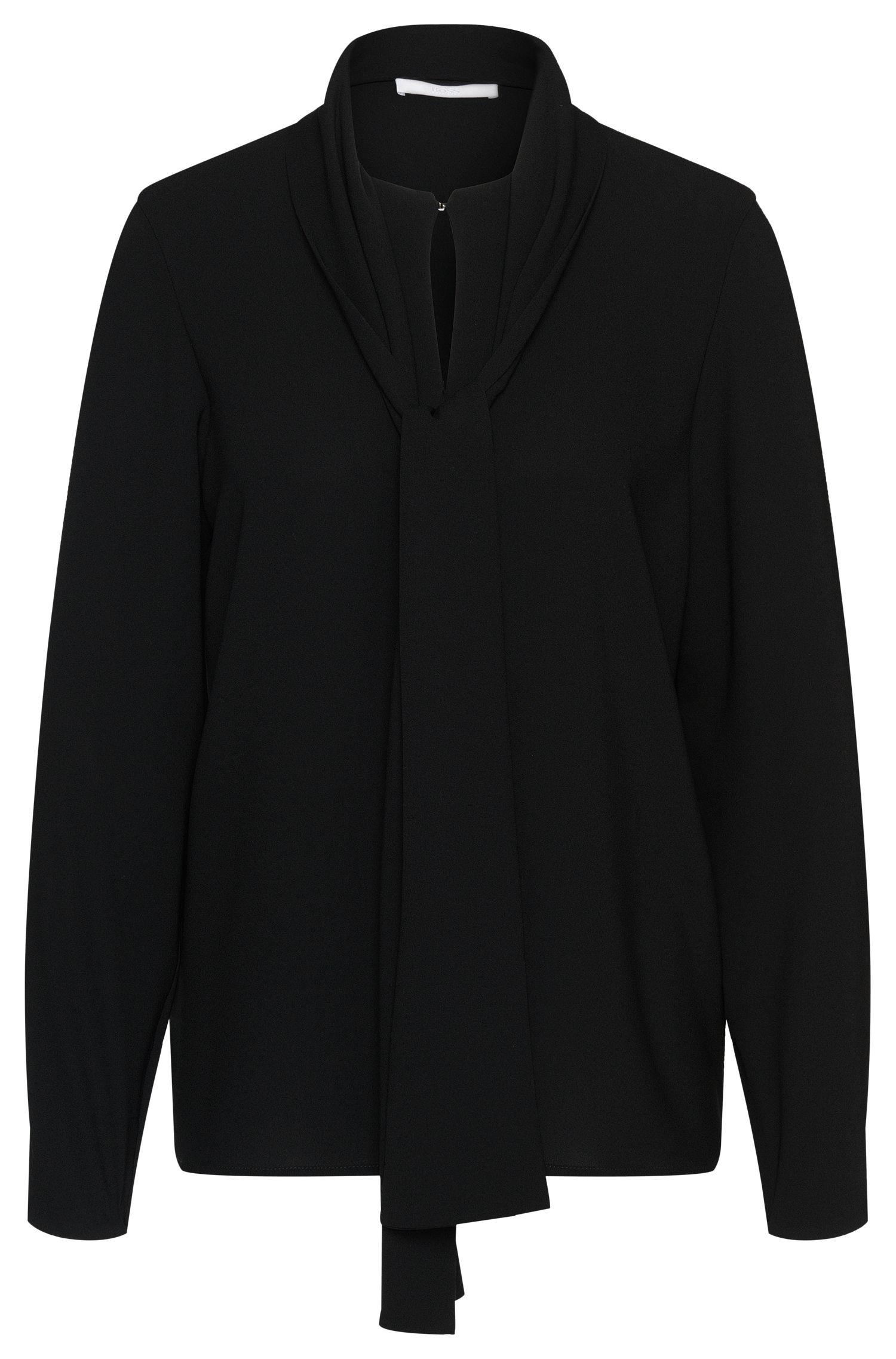 Blusa con cuello con lazo: 'Beryna1'