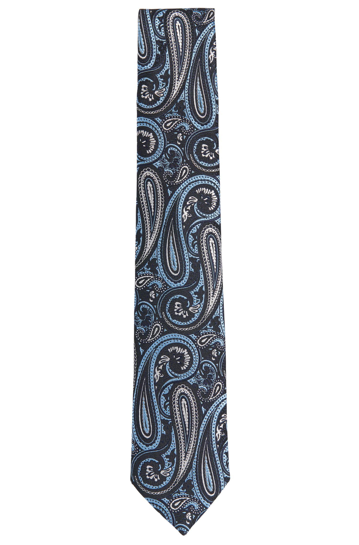 Stropdas van zijde met individueel dessin: 'Tie 7,5 cm'
