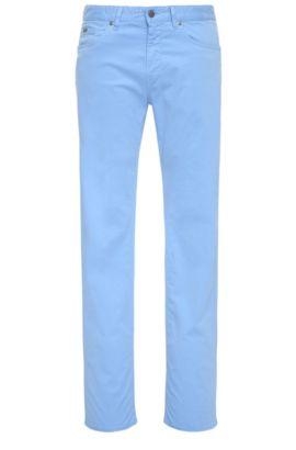 Slim-Fit Jeans aus Stretch-Baumwolle: ´C-Delaware2-20`, Hellblau