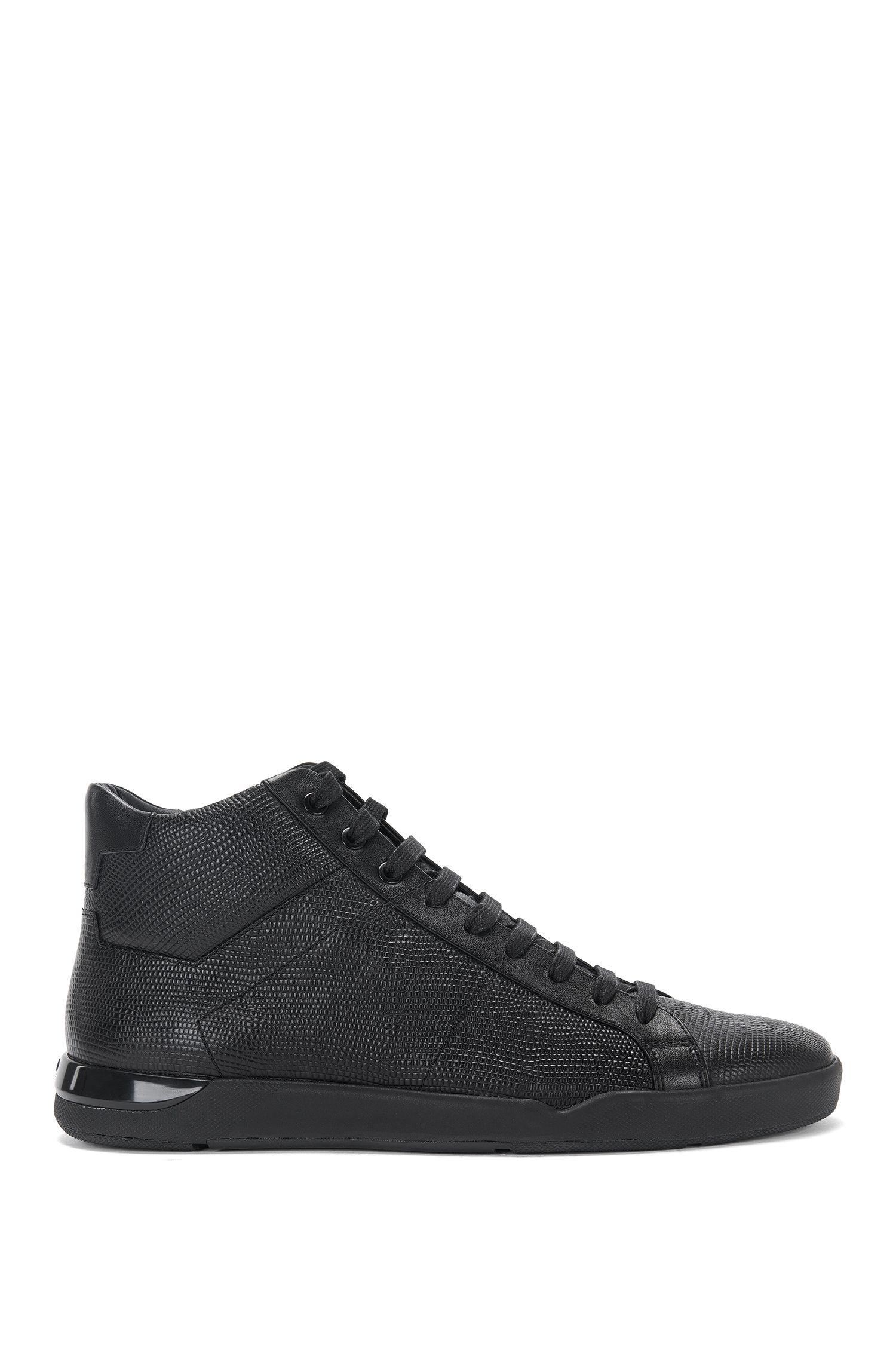 High-Top Sneakers aus Leder mit Prägung : 'Fusion_Hito_Itexo'