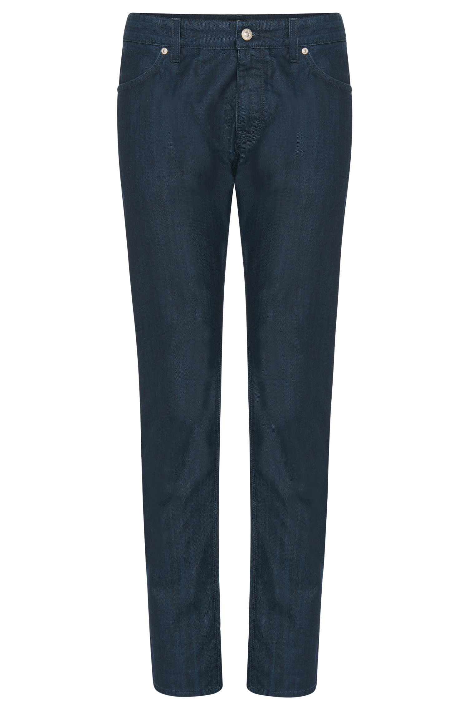 Regular-fit jeans in pure cotton: 'Maine3'