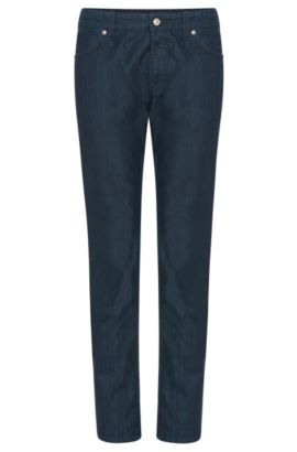 Jeans regular fit in puro cotone: 'Maine3', Blu scuro
