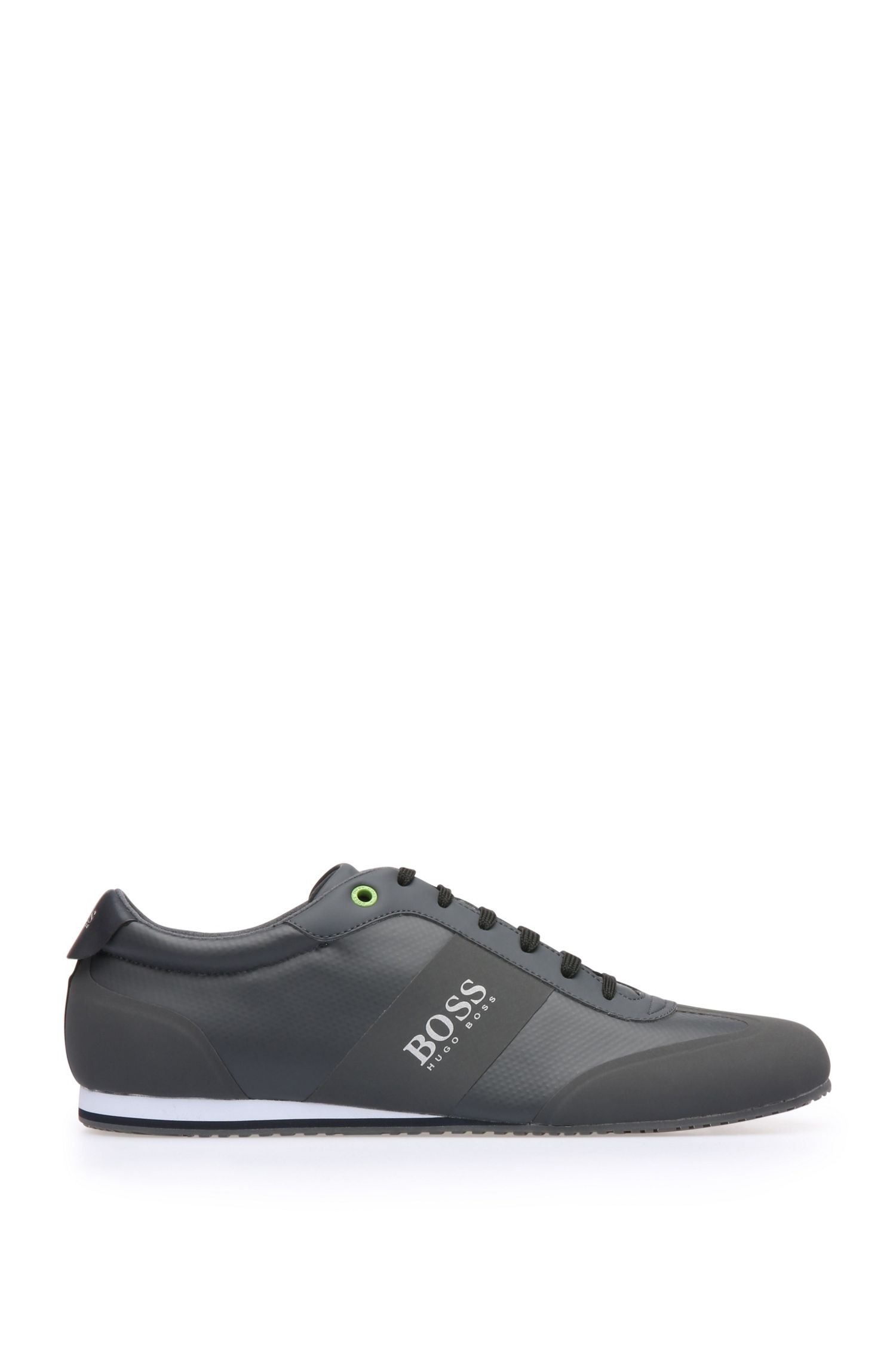 Trainers in a fabric blend with coated mesh and leather: 'Lighter_Lowp_syc'