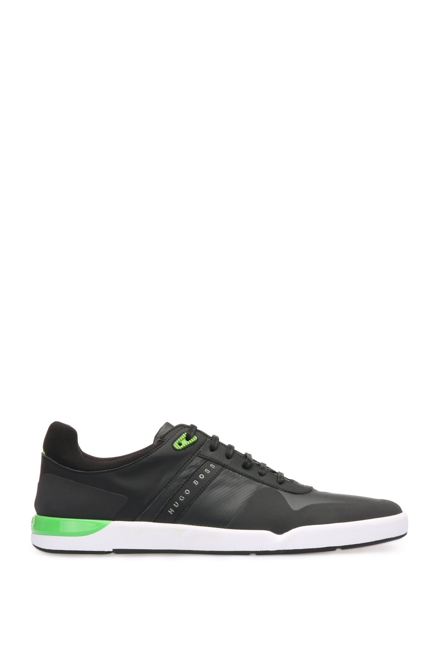 Trainers in fabric blend with mesh: 'Feather_Tenn_syc: