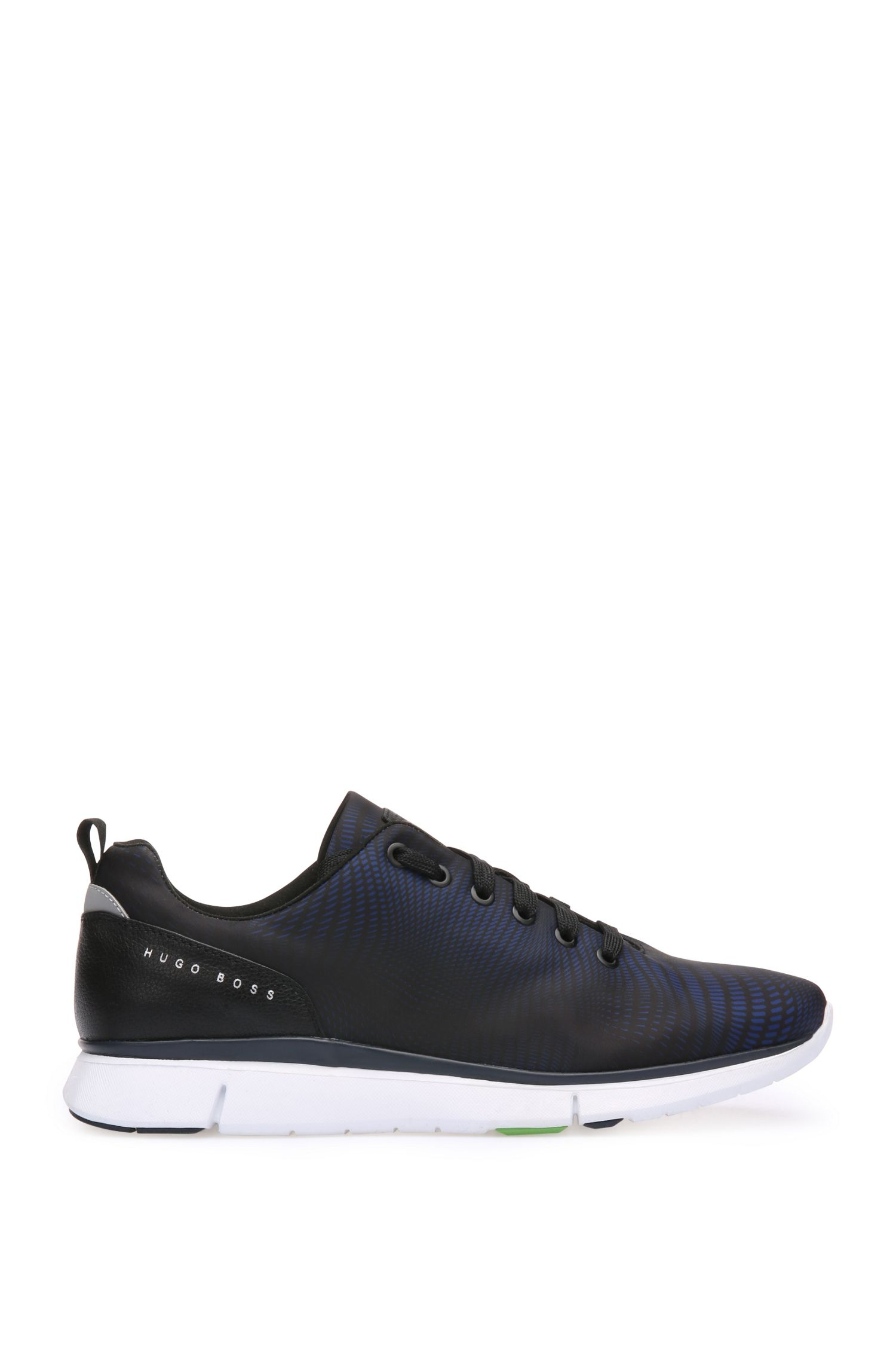Trainers in leather and textile: 'Gym_Runn_nypr1'