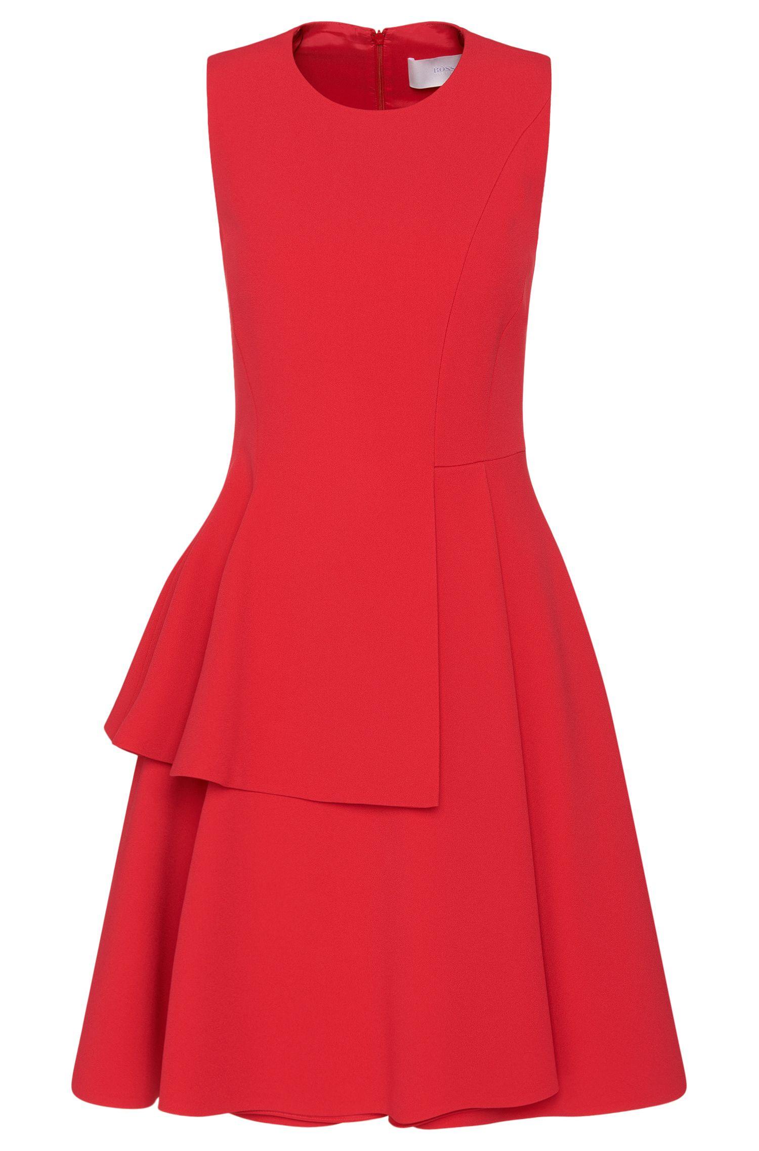 Sleeveless dress with flared skirt: 'Desessy'