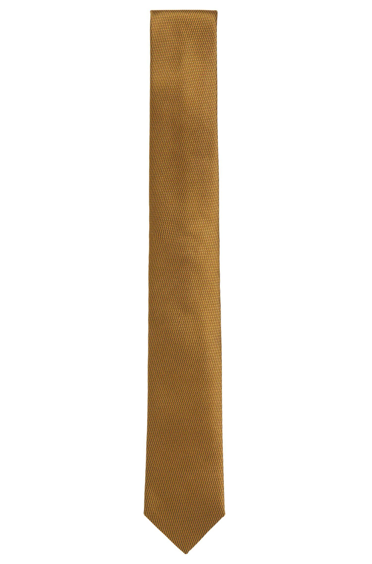 Corbata de pura seda de la línea Tailored con textura fina: 'T-Tie 6cm'