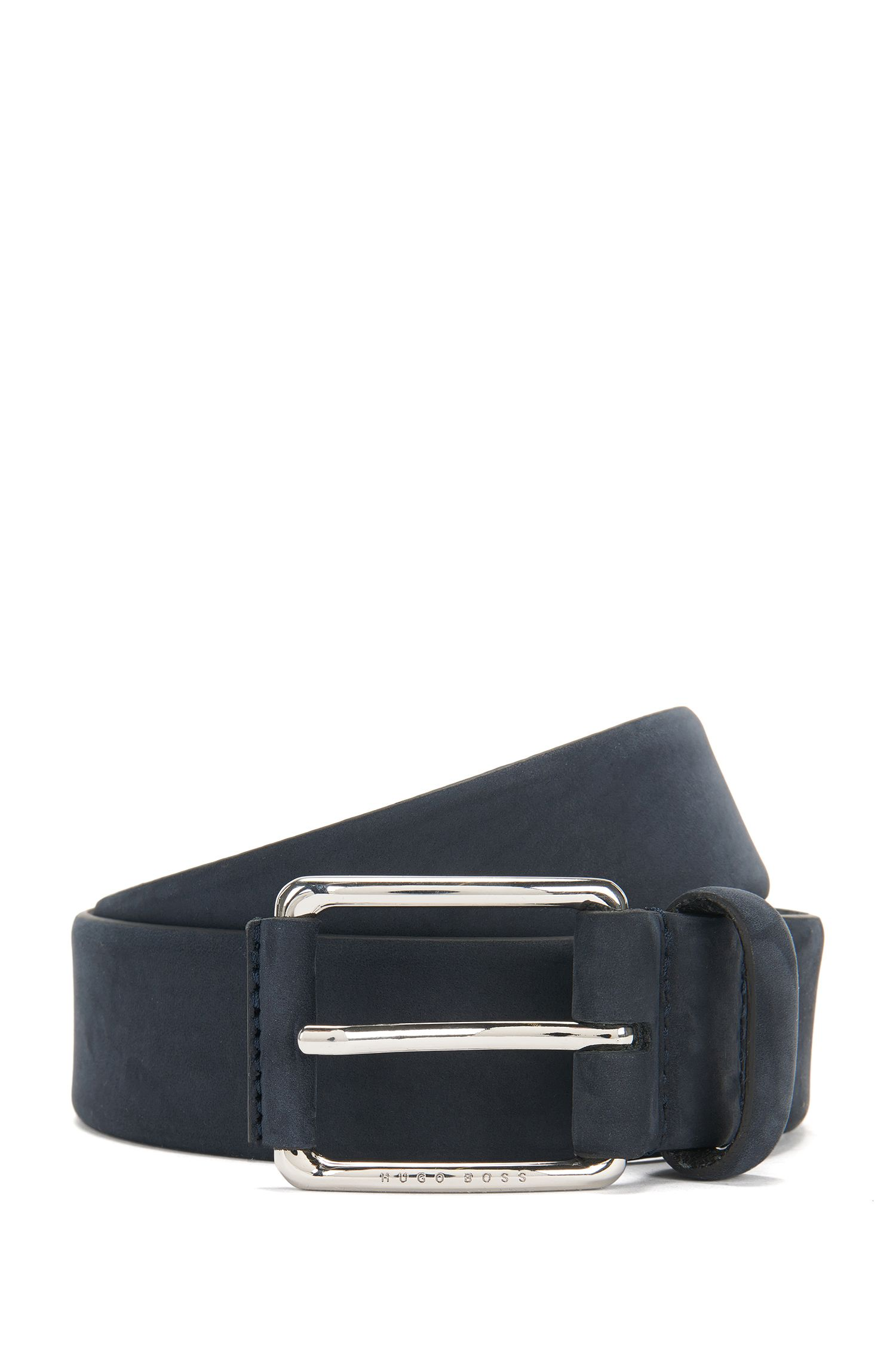 Belt in nubuck leather: 'Catios_Sz35_nupl'