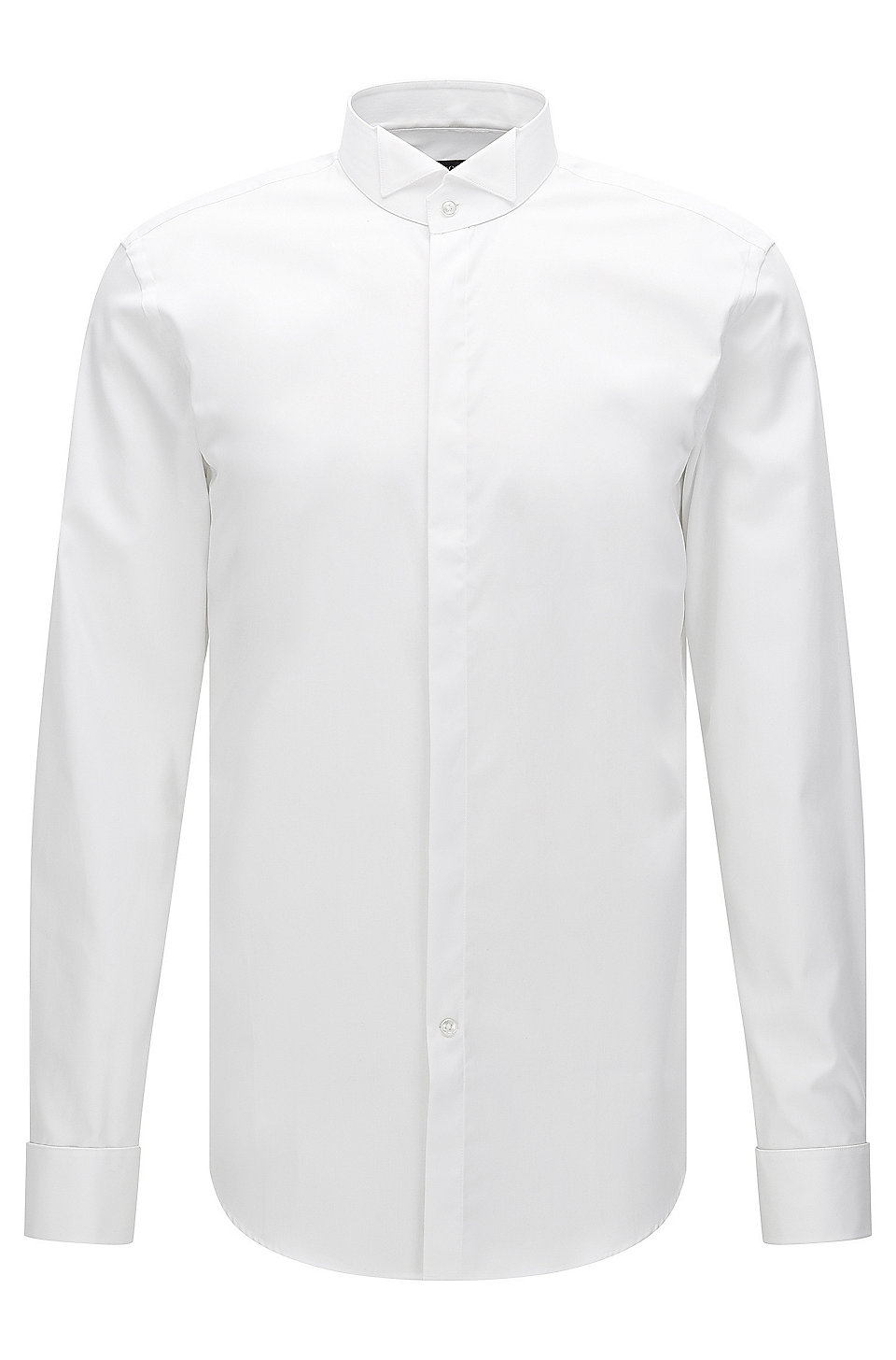 a42700e6e BOSS - Slim-fit business shirt in pure cotton