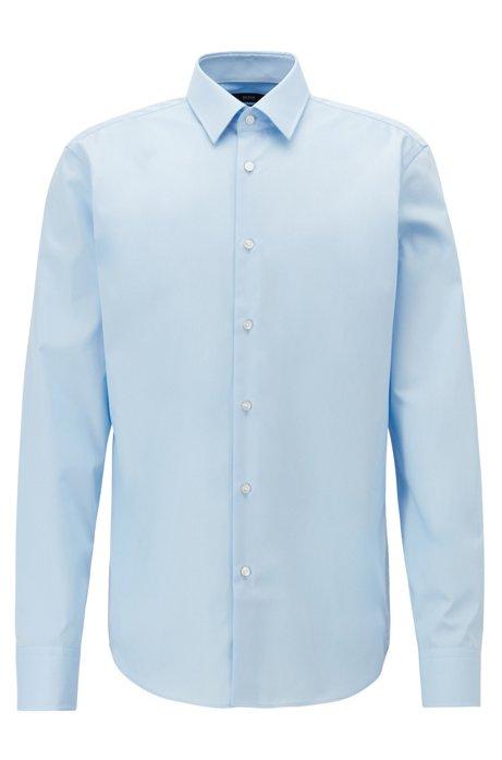 Chemise business Regular Fit en pur coton, Bleu vif